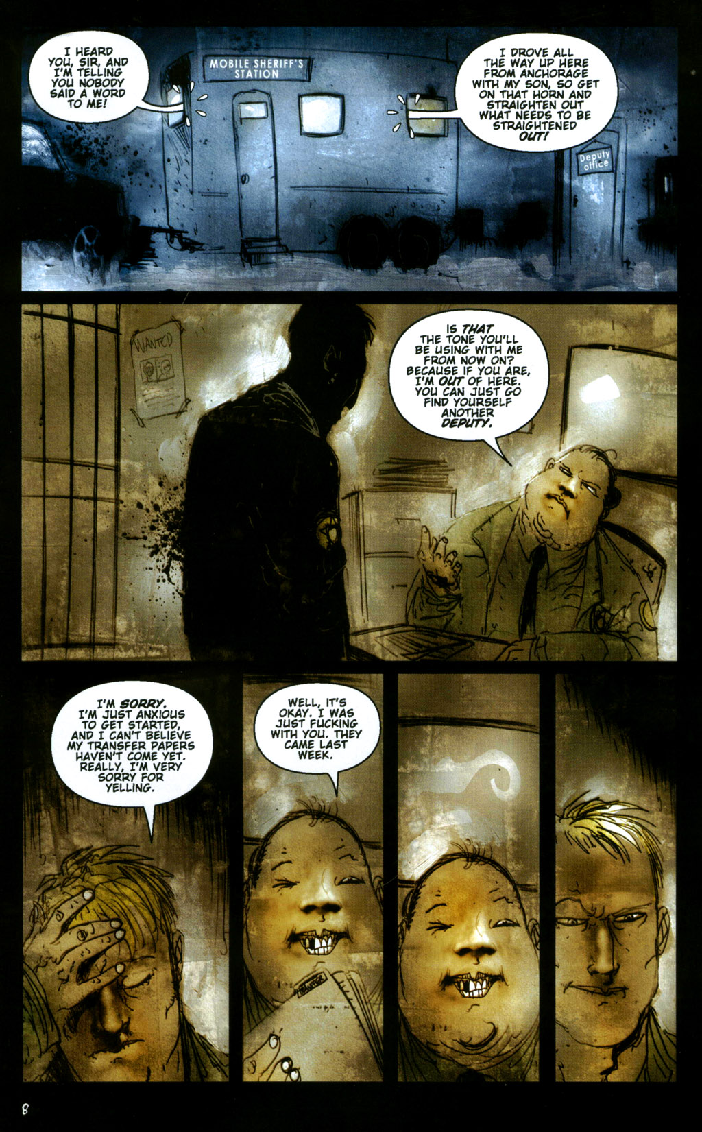 Read online 30 Days of Night: Return to Barrow comic -  Issue #1 - 10