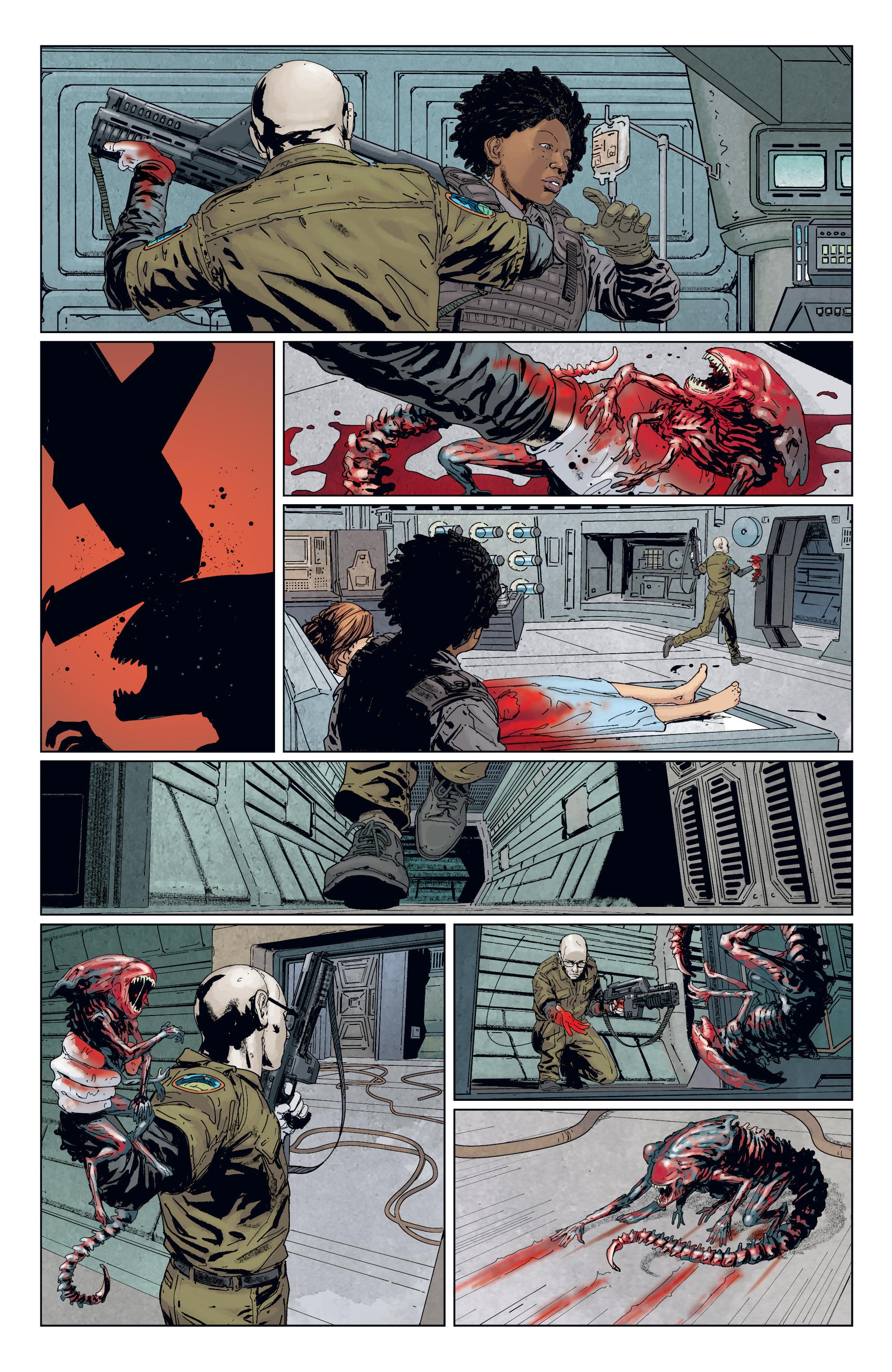 Read online Aliens: Defiance comic -  Issue #7 - 15