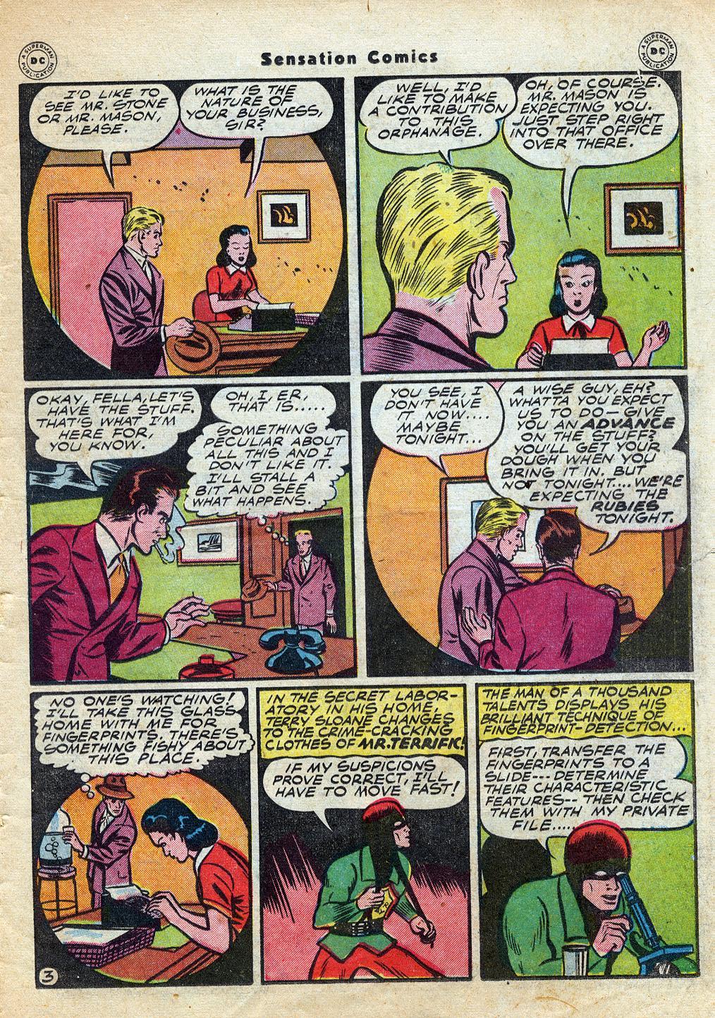 Read online Sensation (Mystery) Comics comic -  Issue #60 - 35