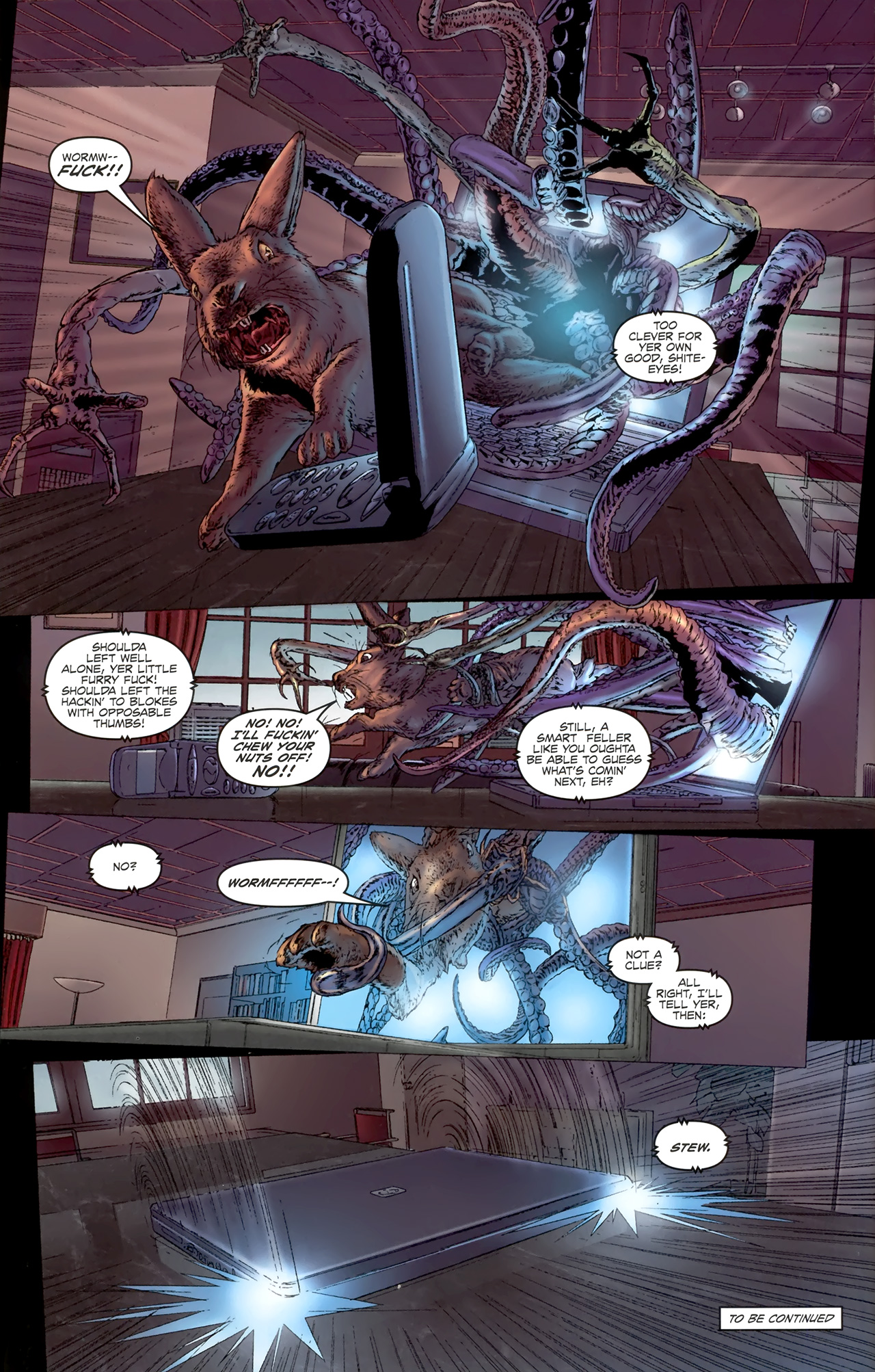 Read online Chronicles of Wormwood: The Last Battle comic -  Issue #4 - 25