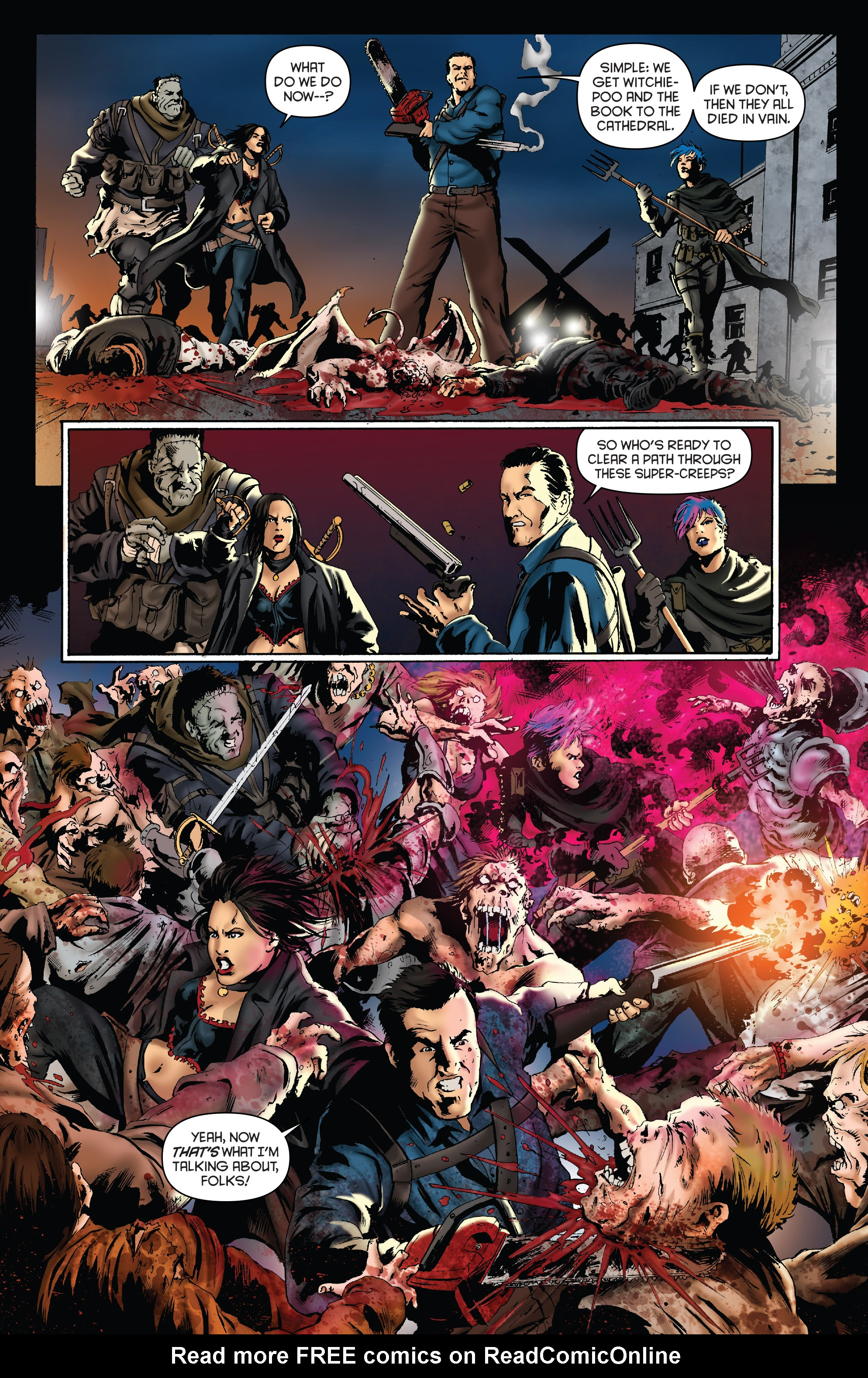 Read online Army of Darkness: Furious Road comic -  Issue #4 - 10