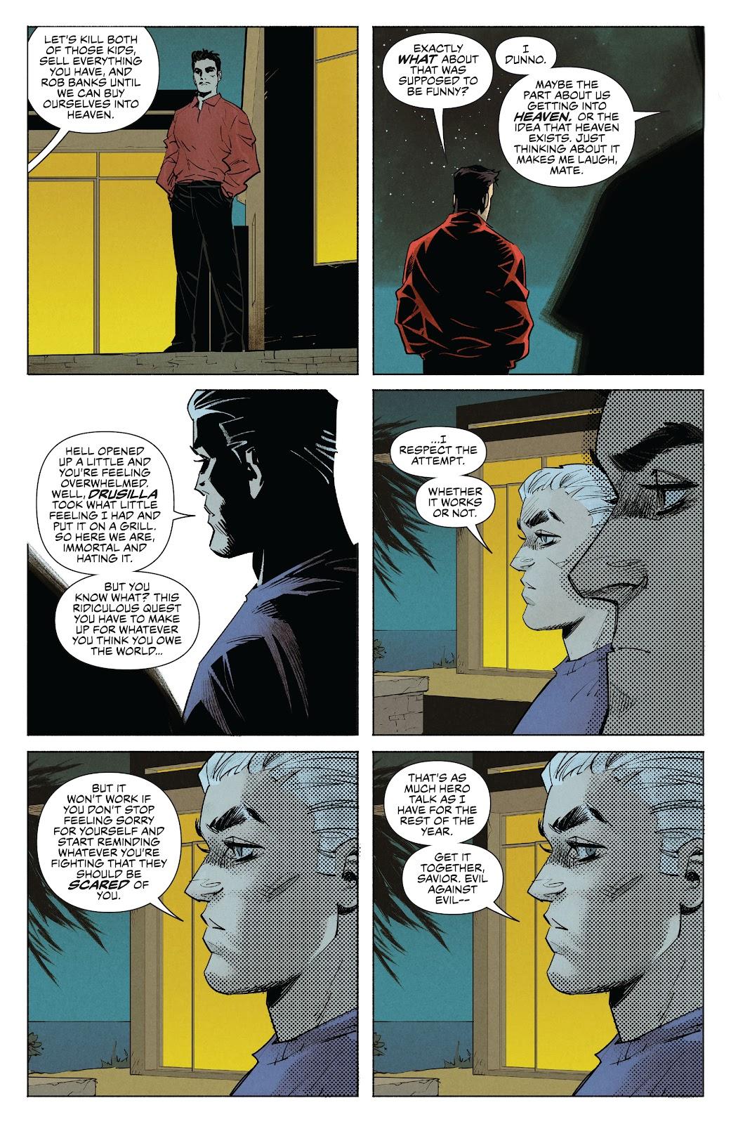 Read online Angel   Spike comic -  Issue #10 - 18