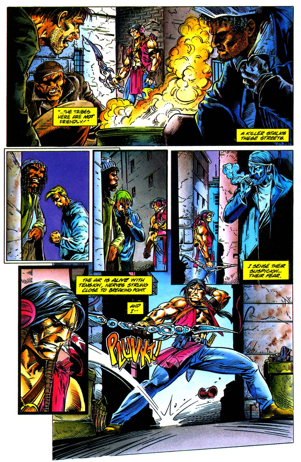 Read online Turok, Dinosaur Hunter (1993) comic -  Issue #29 - 18