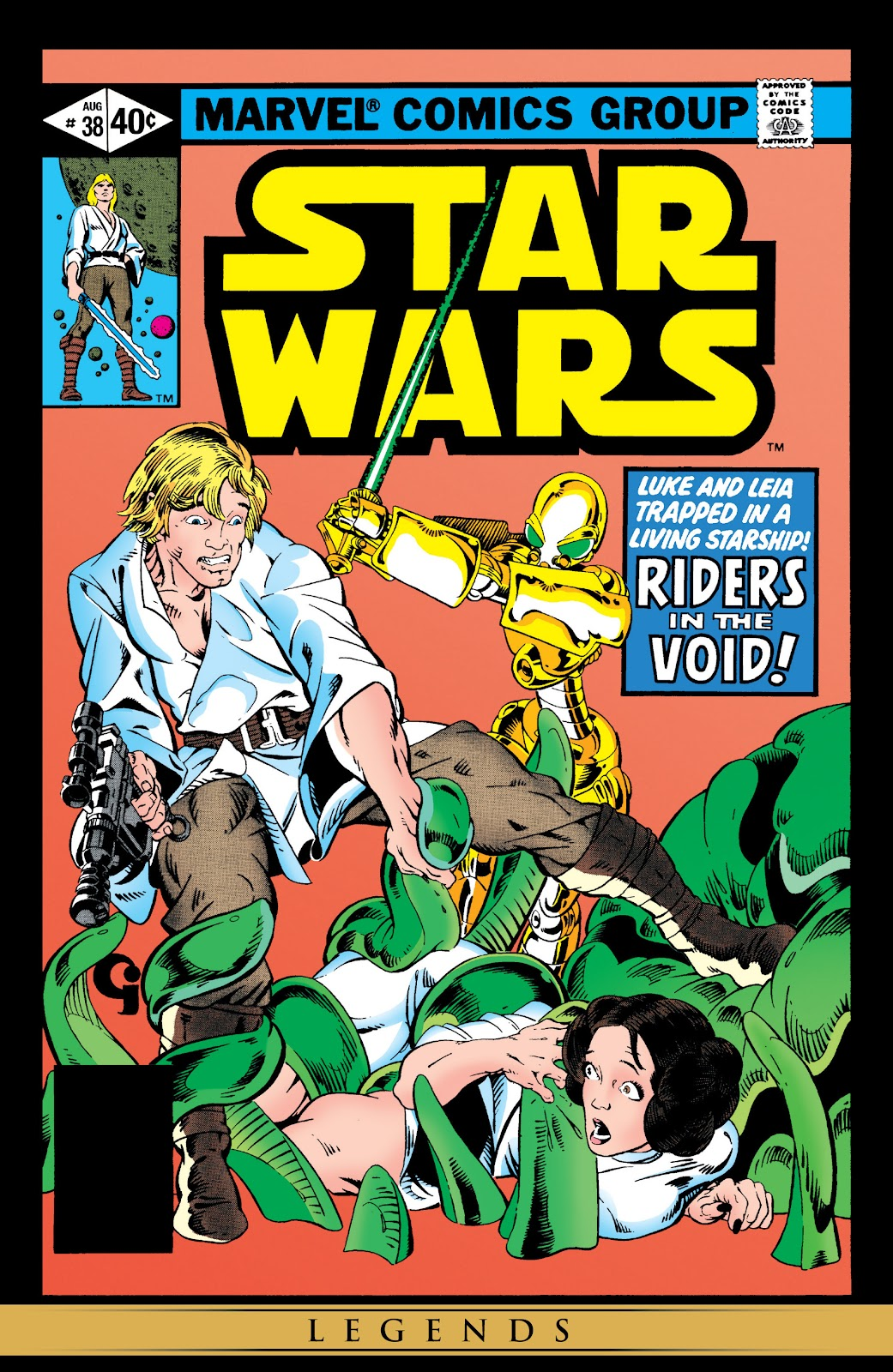 Read online Star Wars Legends: The Original Marvel Years - Epic Collection comic -  Issue # TPB 2 (Part 3) - 94