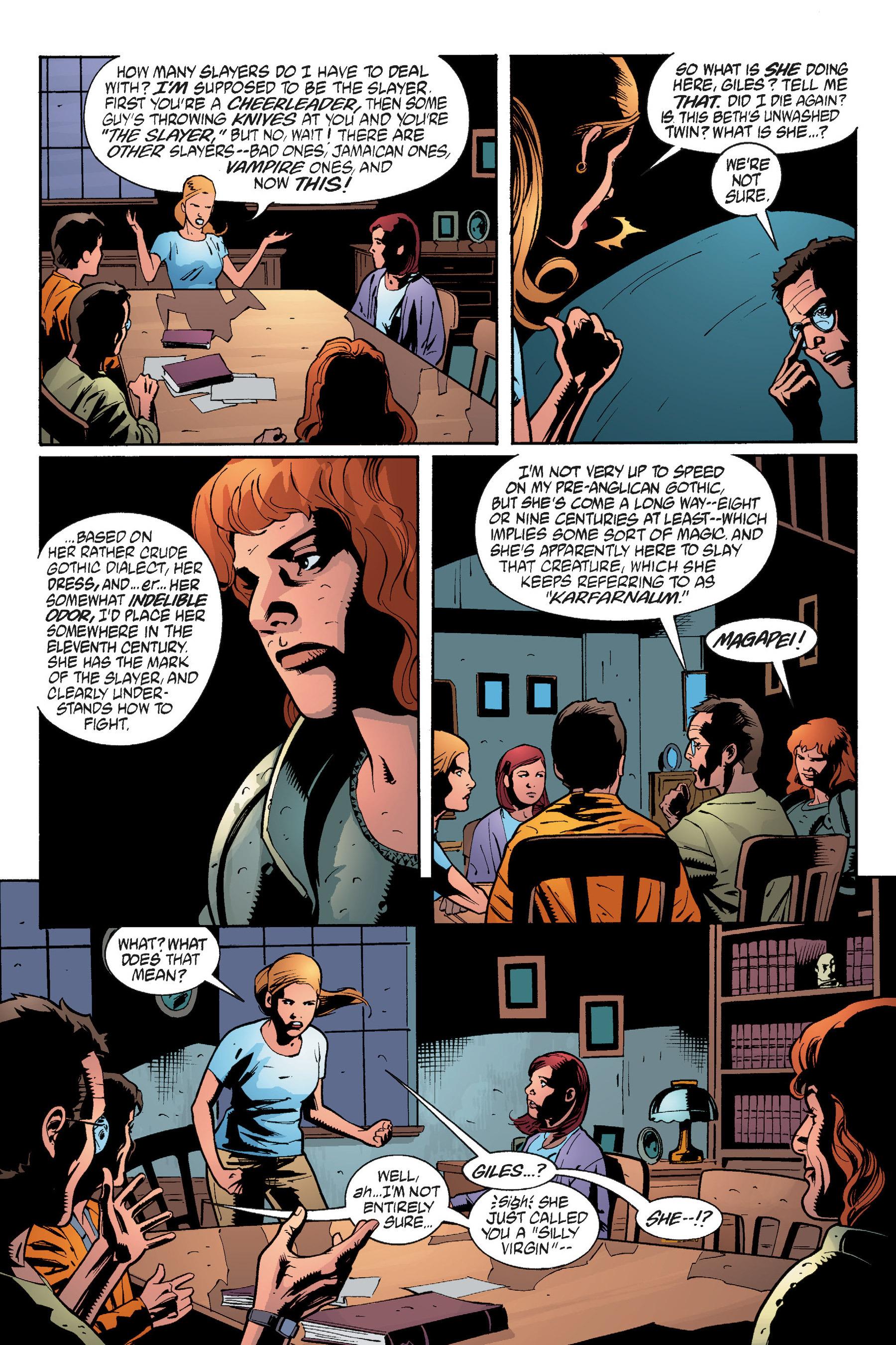 Read online Buffy the Vampire Slayer: Omnibus comic -  Issue # TPB 5 - 257