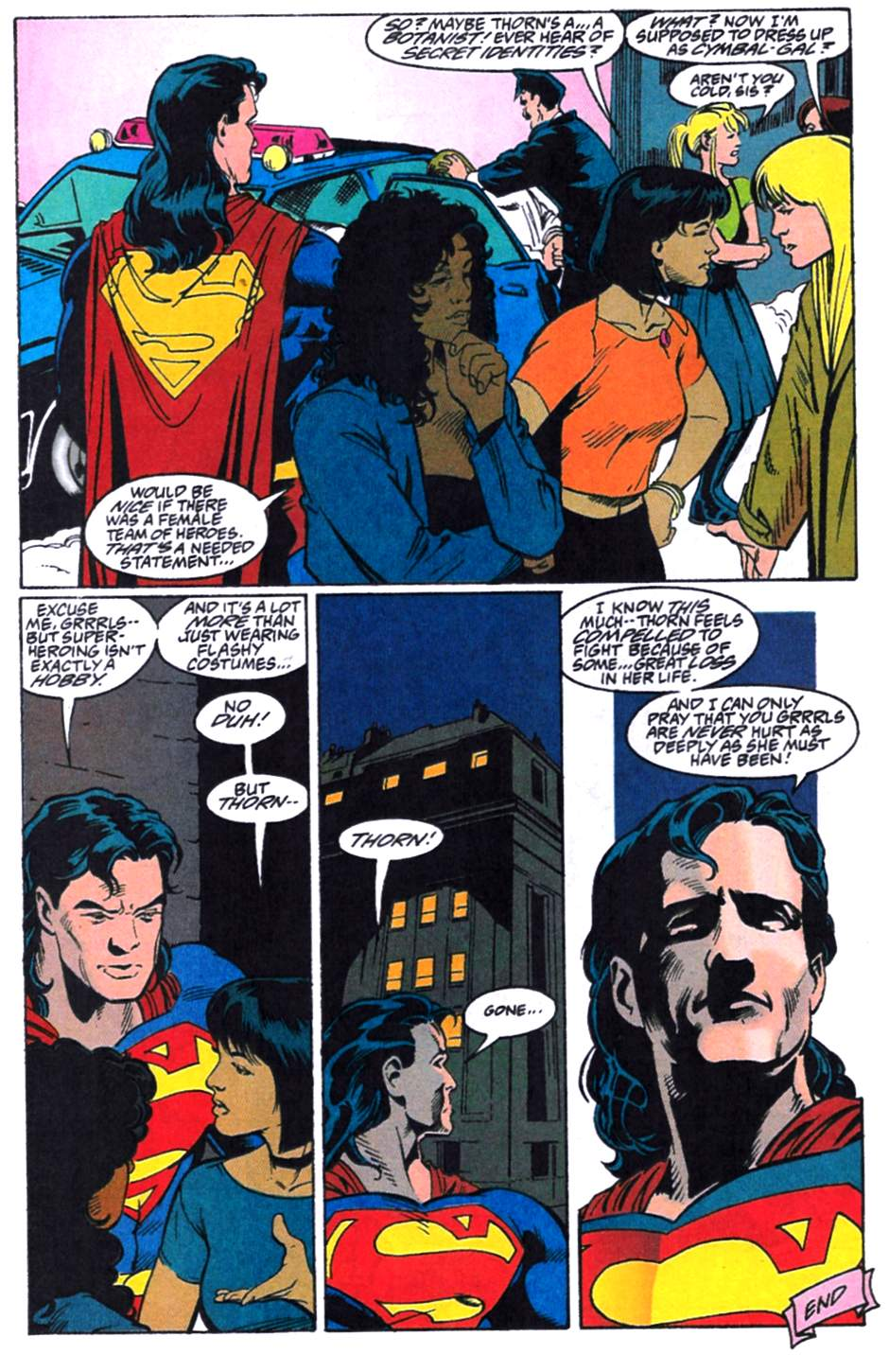 Read online Adventures of Superman (1987) comic -  Issue #521 - 23