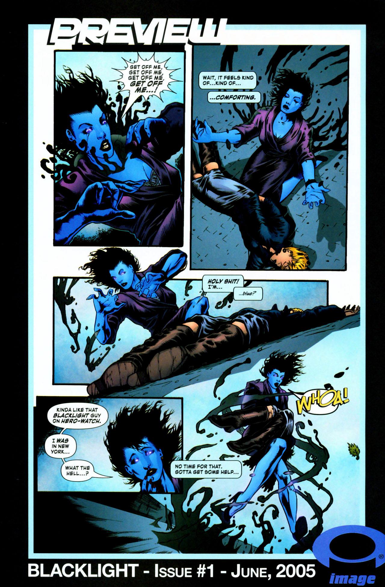 Read online ShadowHawk (2005) comic -  Issue #1 - 31