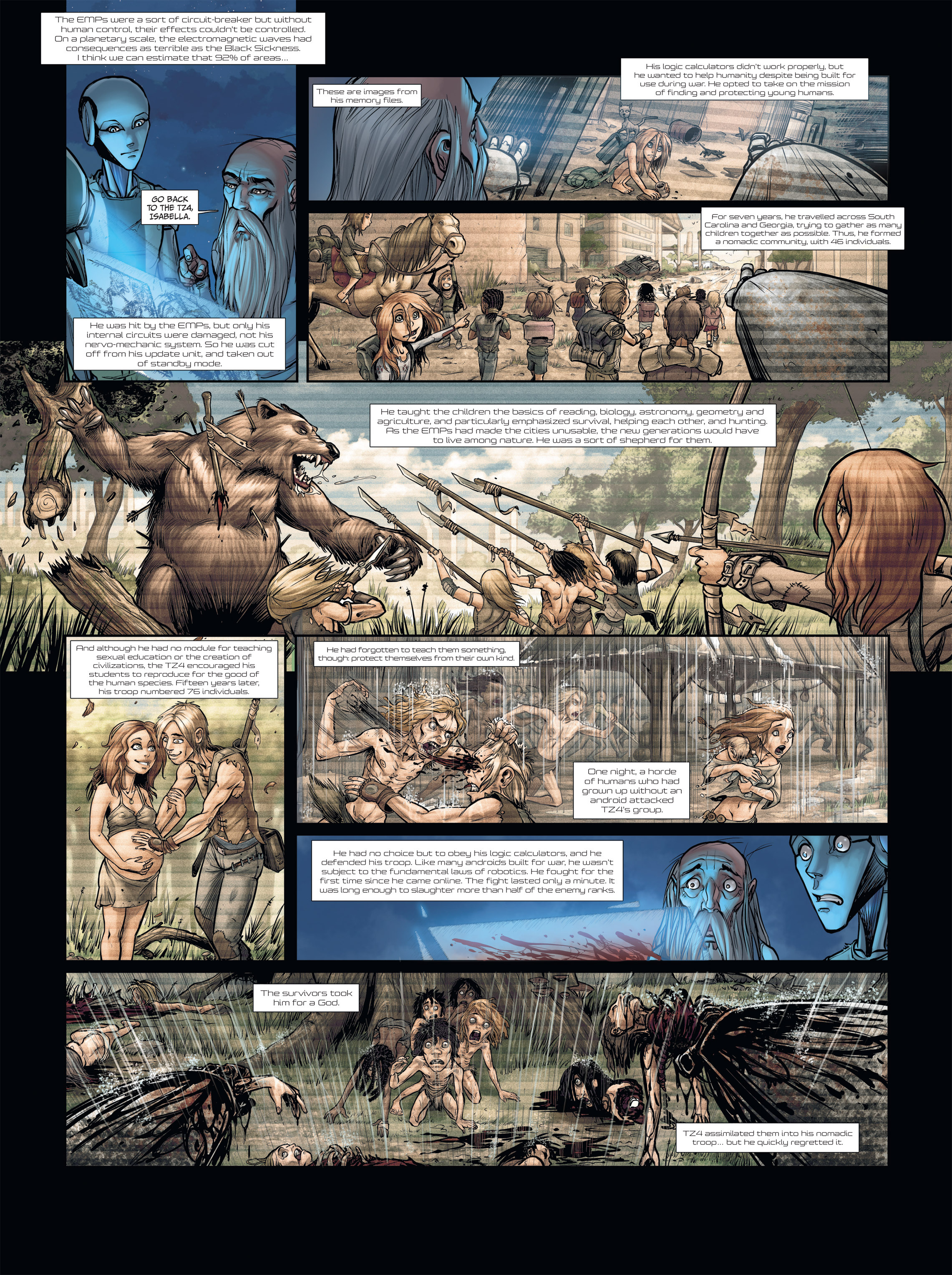 Read online Androïds comic -  Issue #2 - 36