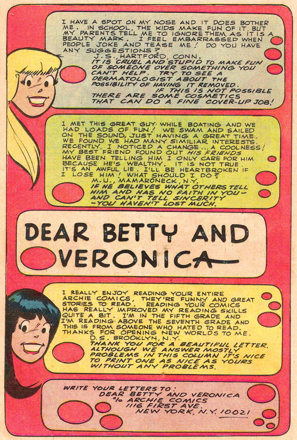 Read online Archie's Girls Betty and Veronica comic -  Issue #314 - 18