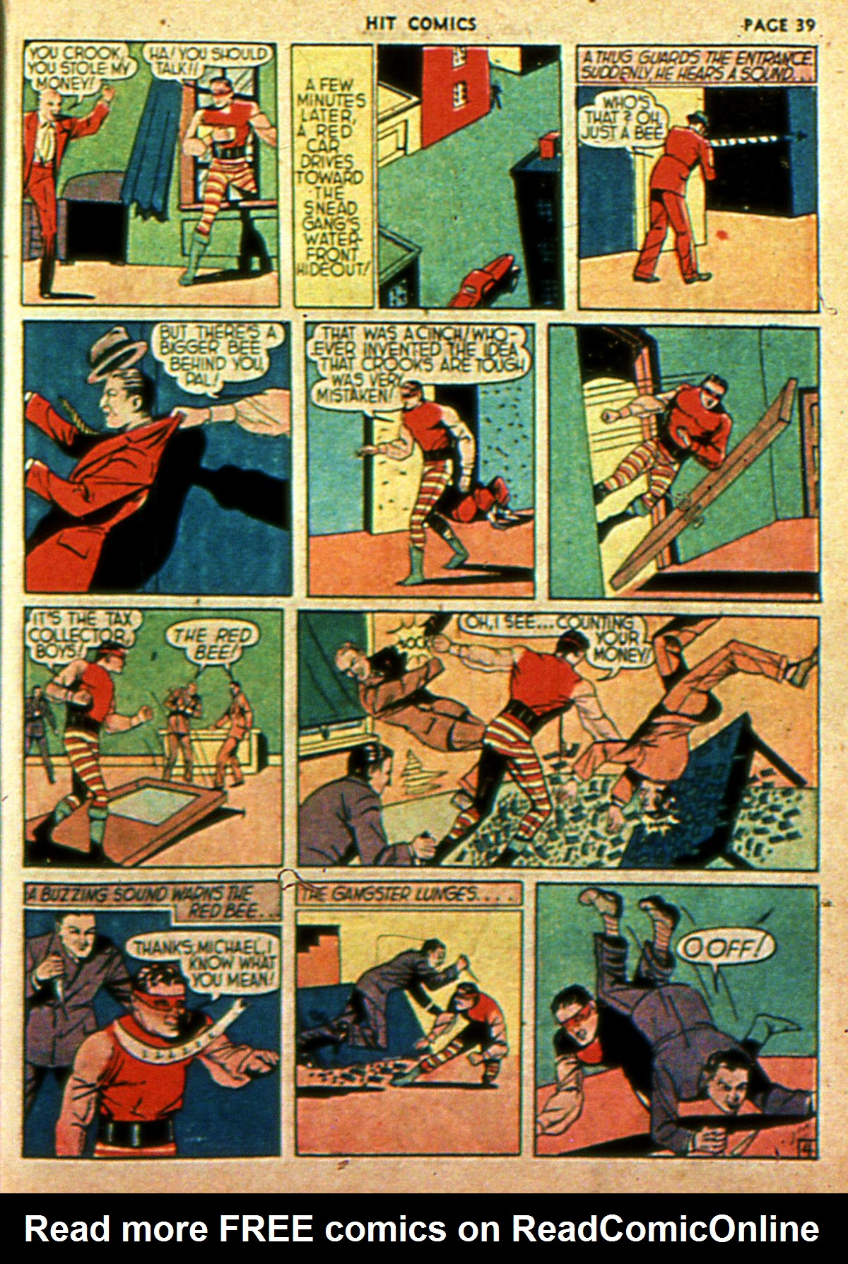 Read online Hit Comics comic -  Issue #2 - 41