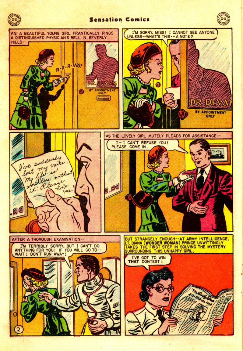 Read online Sensation (Mystery) Comics comic -  Issue #88 - 3