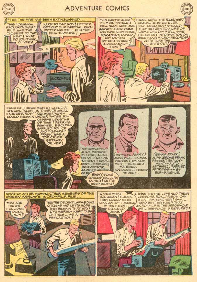 Read online Adventure Comics (1938) comic -  Issue #185 - 35