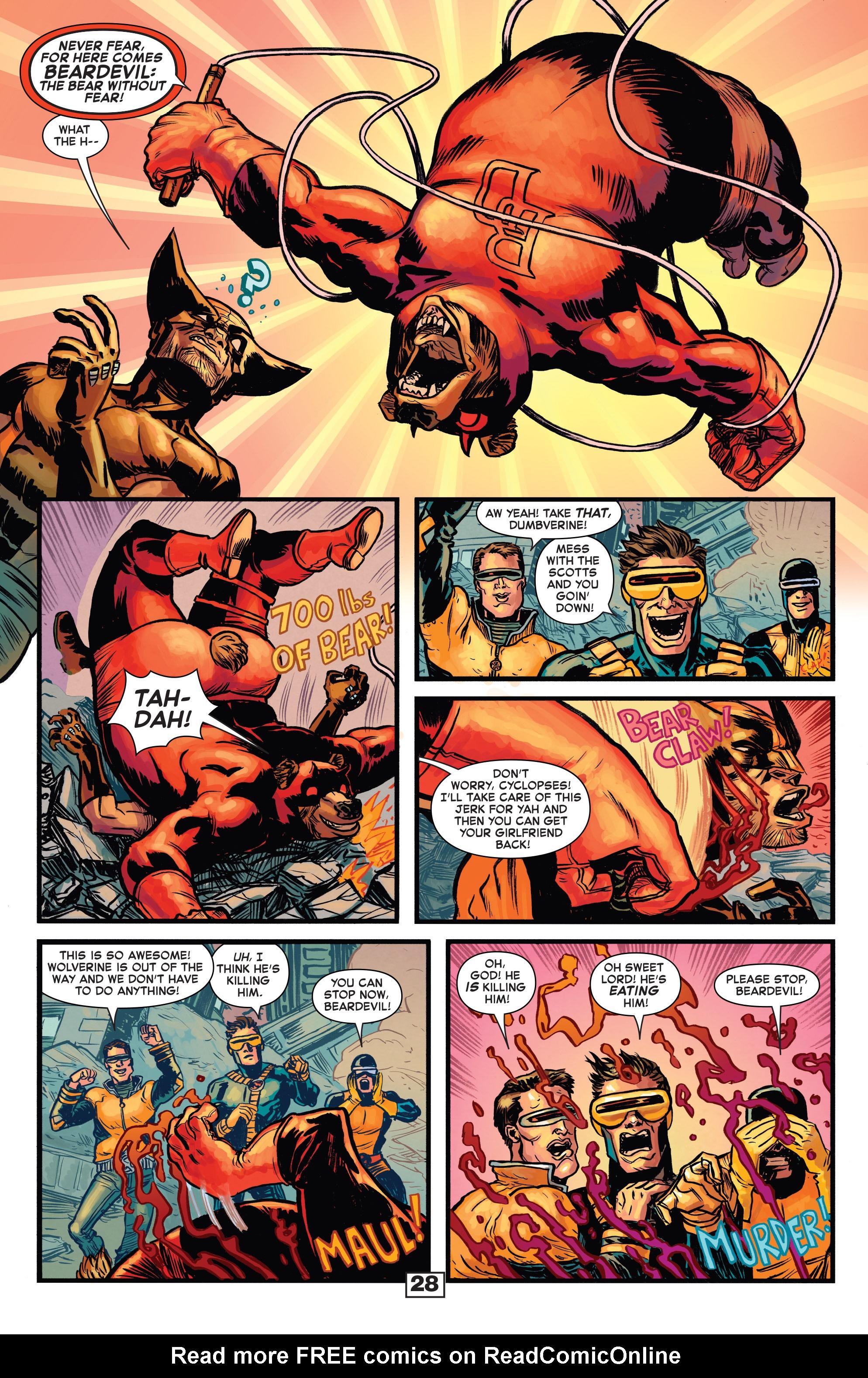 Read online Secret Wars Too comic -  Issue # Full - 30