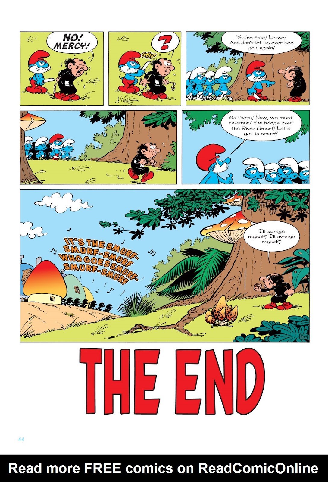 Read online The Smurfs comic -  Issue #5 - 44