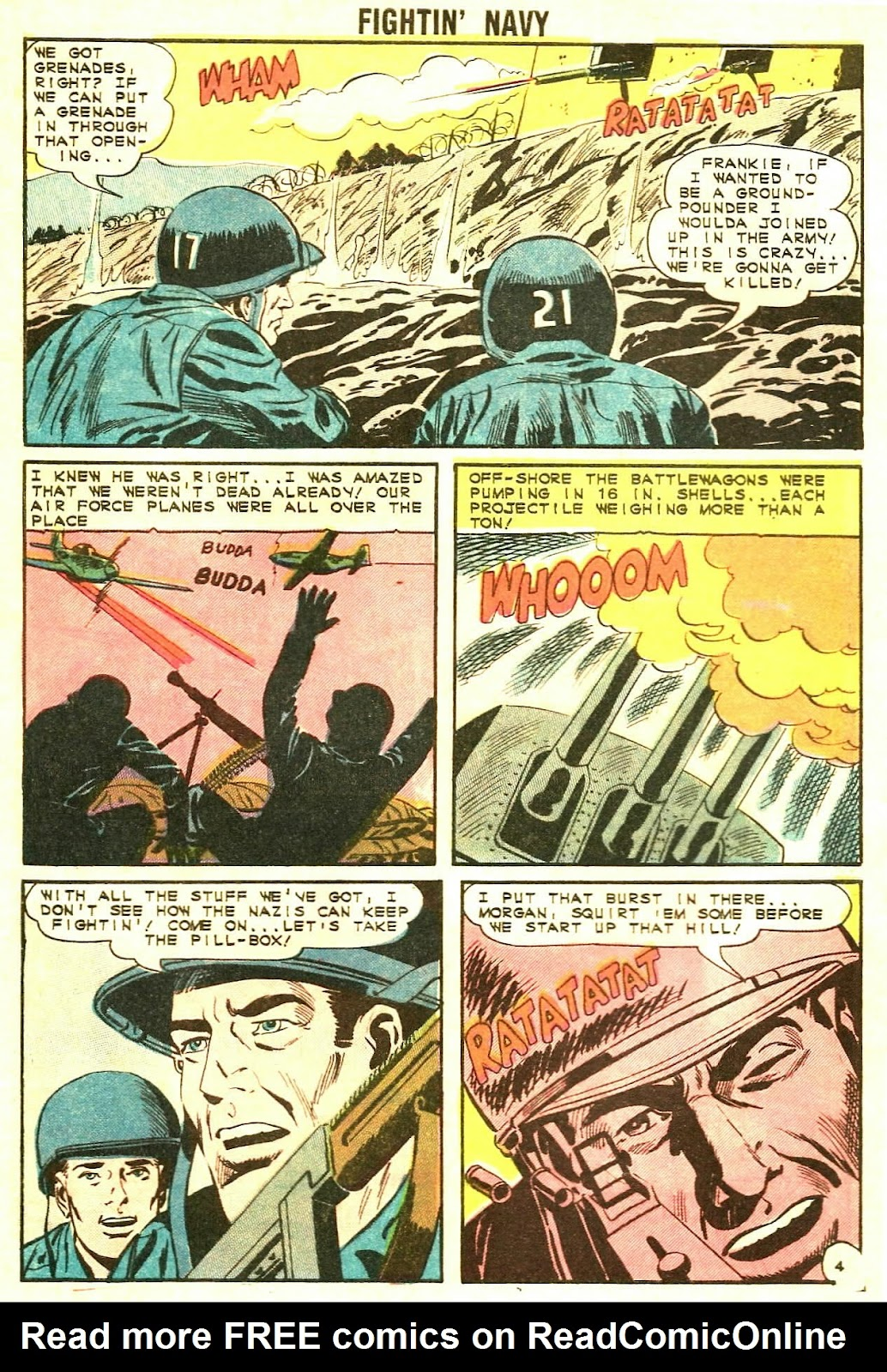 Read online Fightin' Navy comic -  Issue #117 - 28