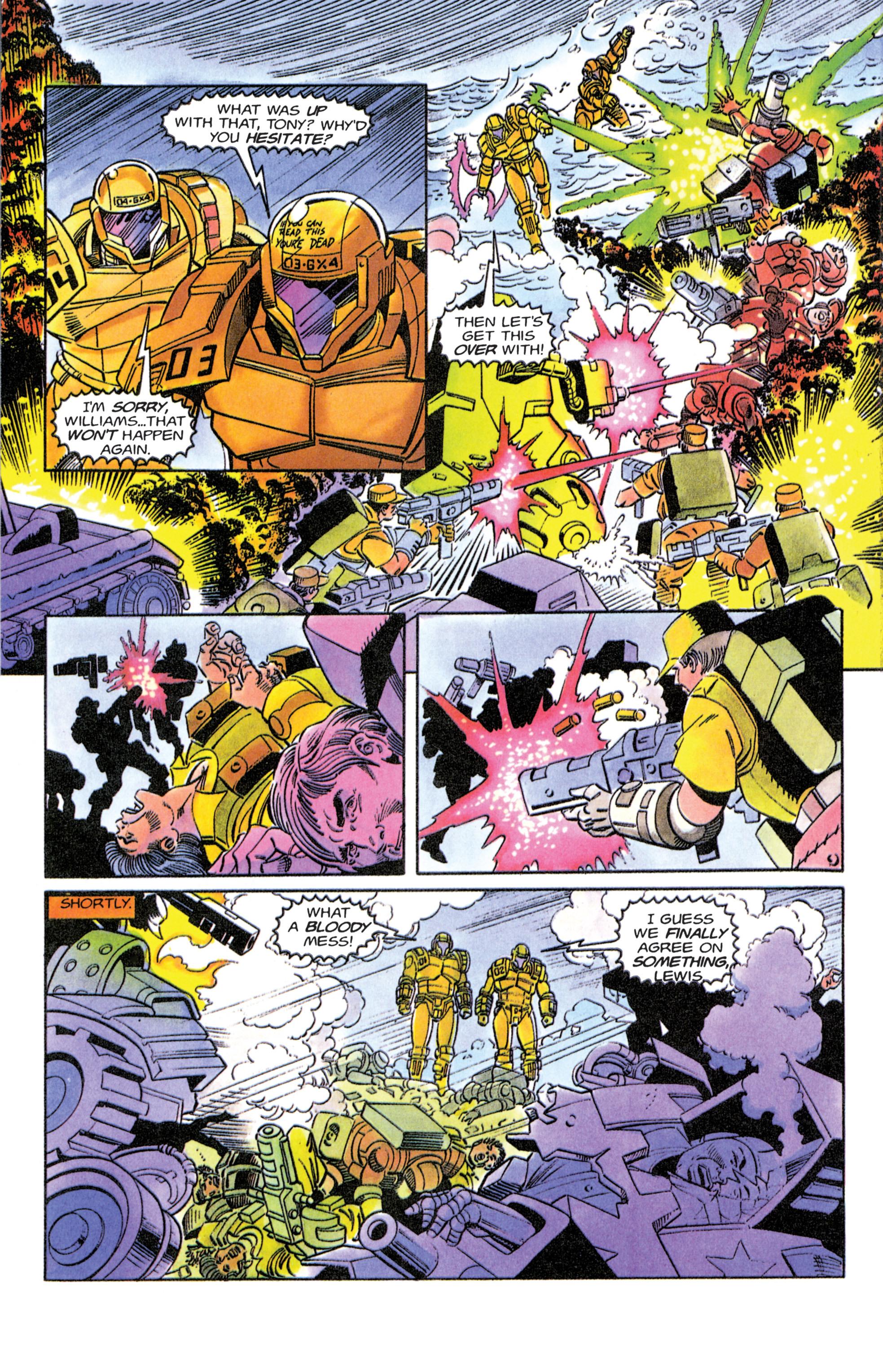 Read online Armorines comic -  Issue #11 - 8