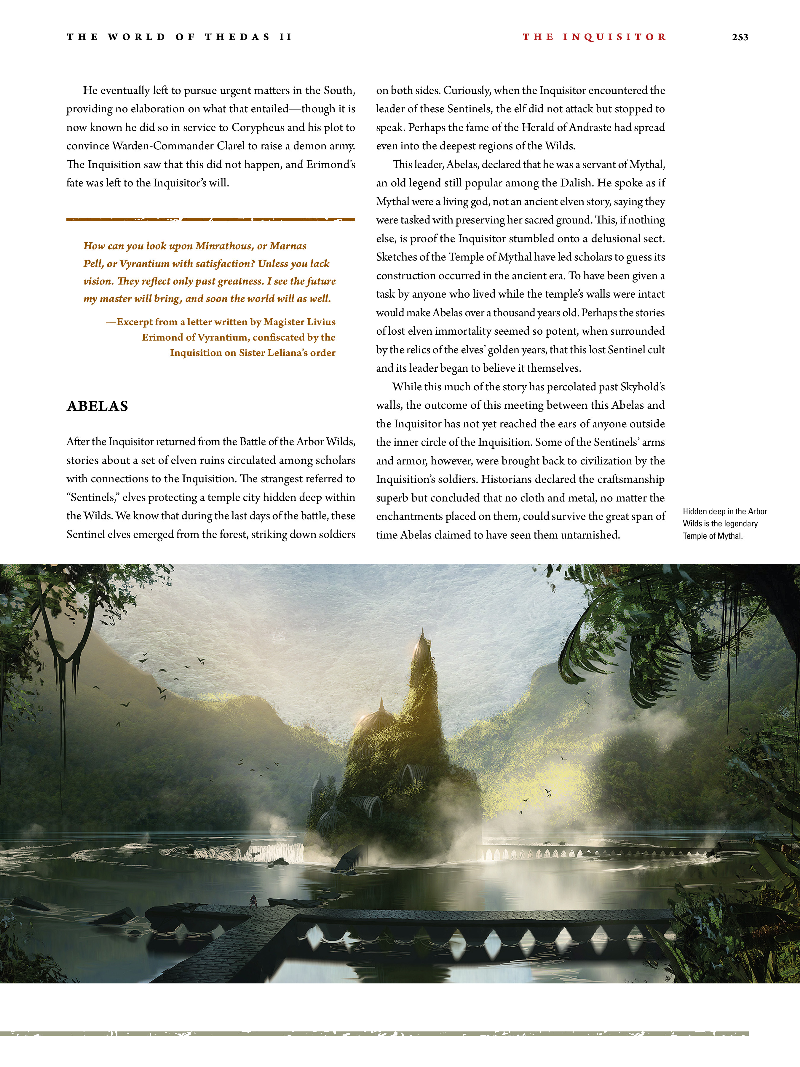 Read online Dragon Age: The World of Thedas comic -  Issue # TPB 2 - 246