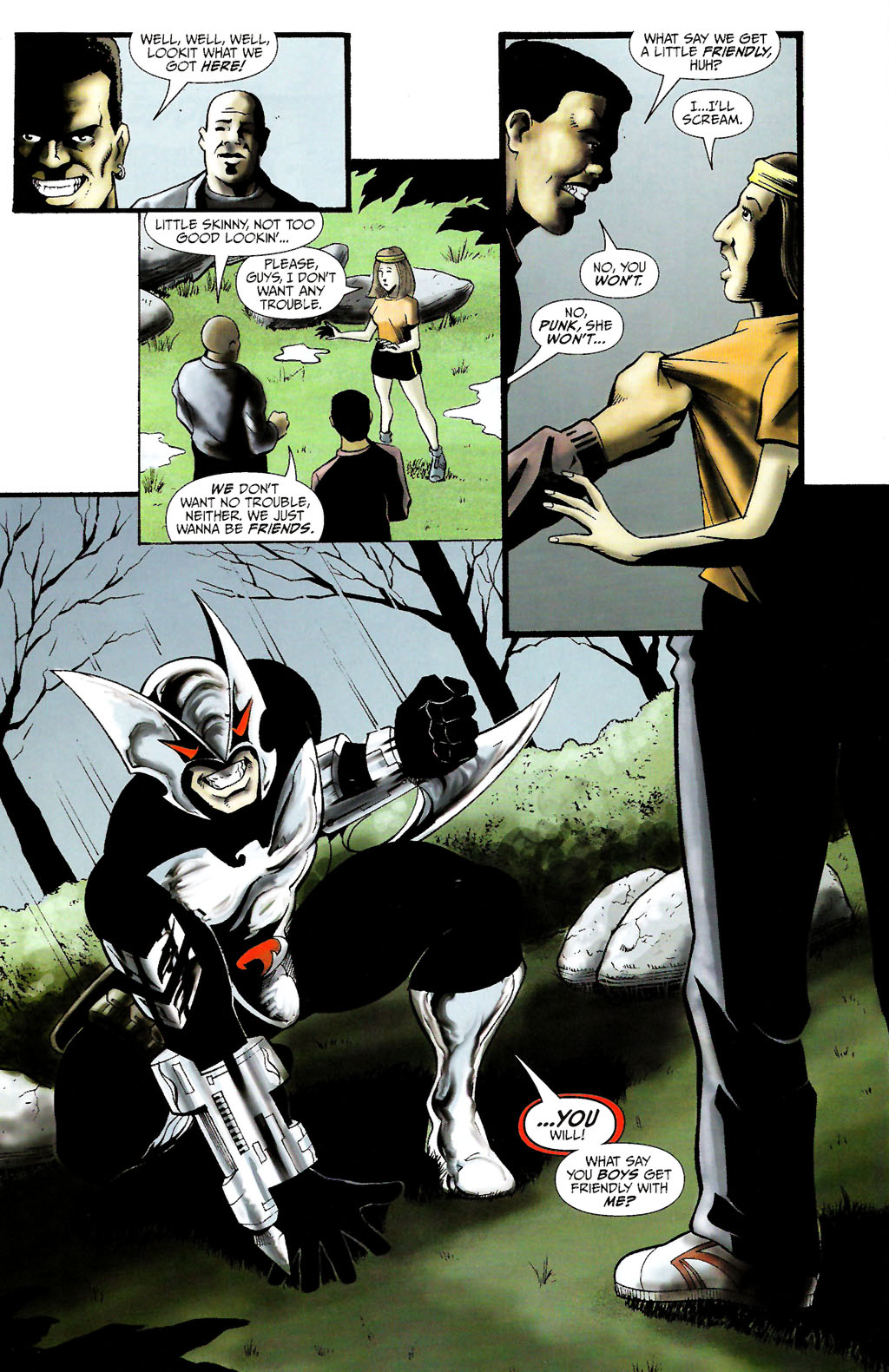 Read online ShadowHawk (2005) comic -  Issue #10 - 10