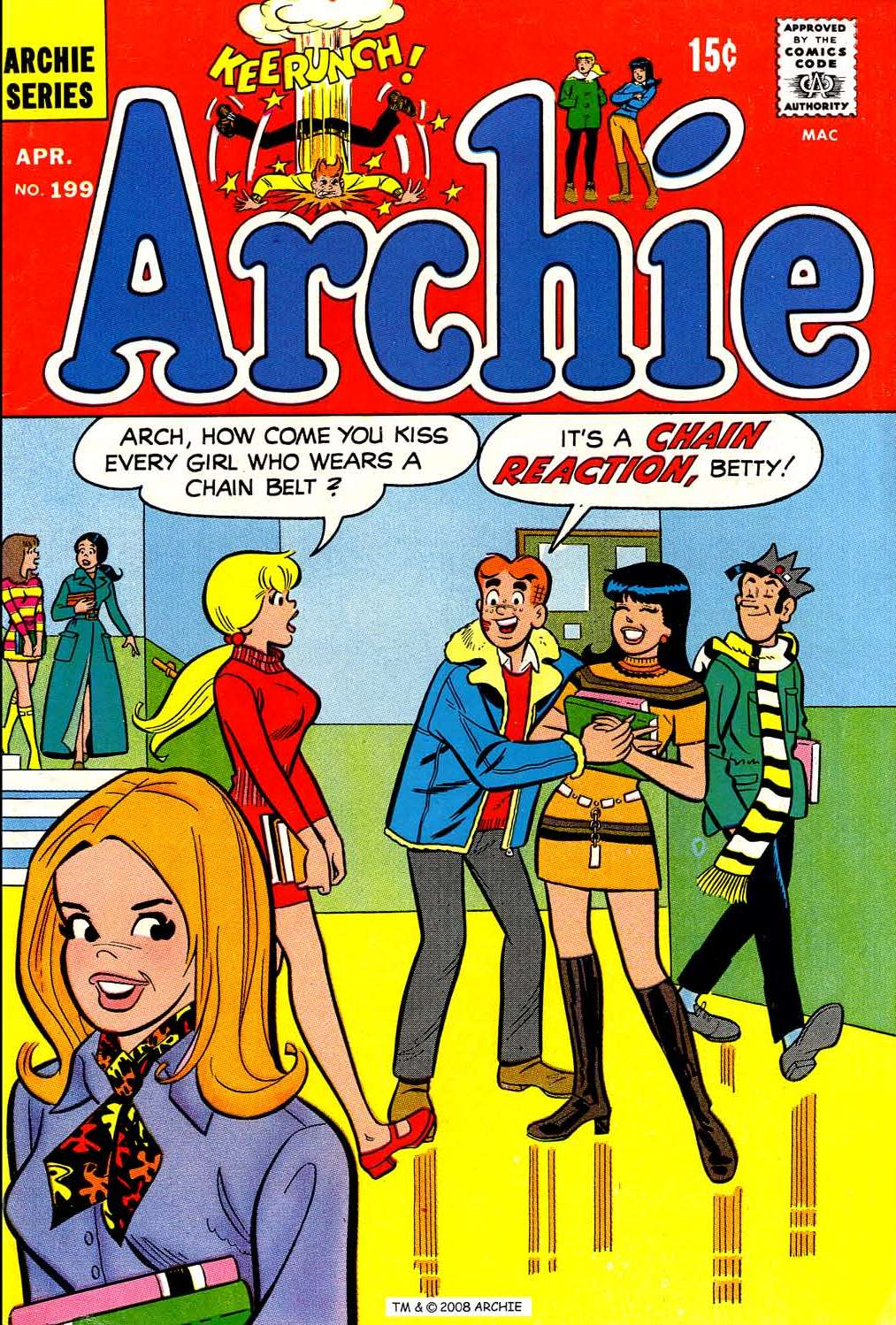 Read online Archie (1960) comic -  Issue #199 - 1