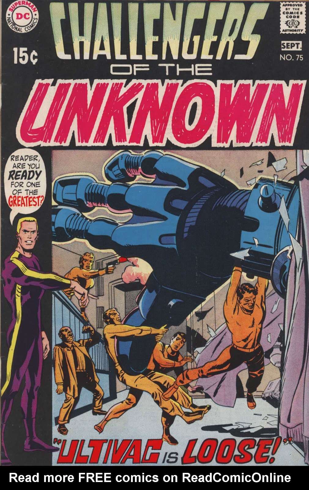 Challengers of the Unknown (1958) issue 75 - Page 1