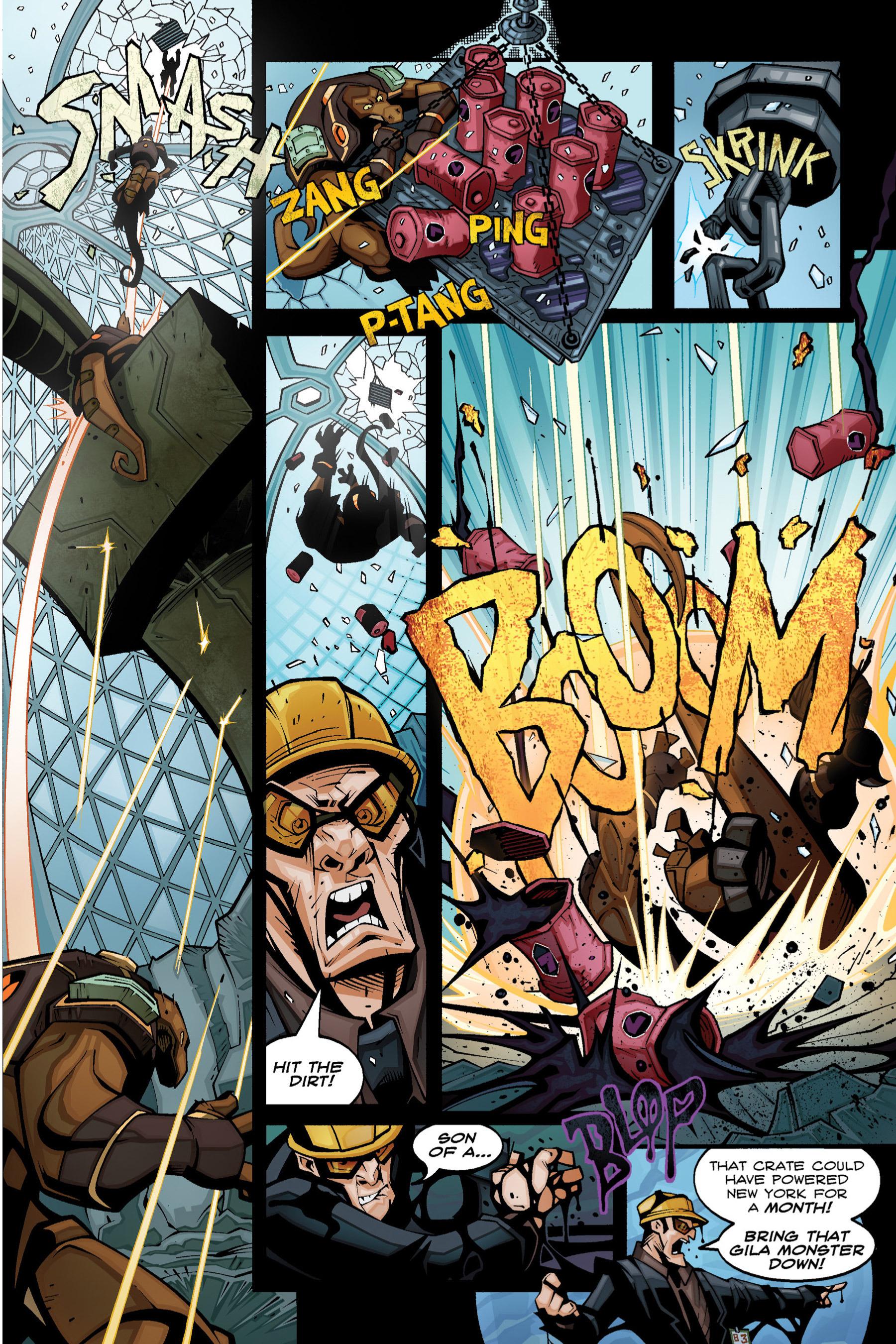 Read online Rexodus comic -  Issue # Full - 27