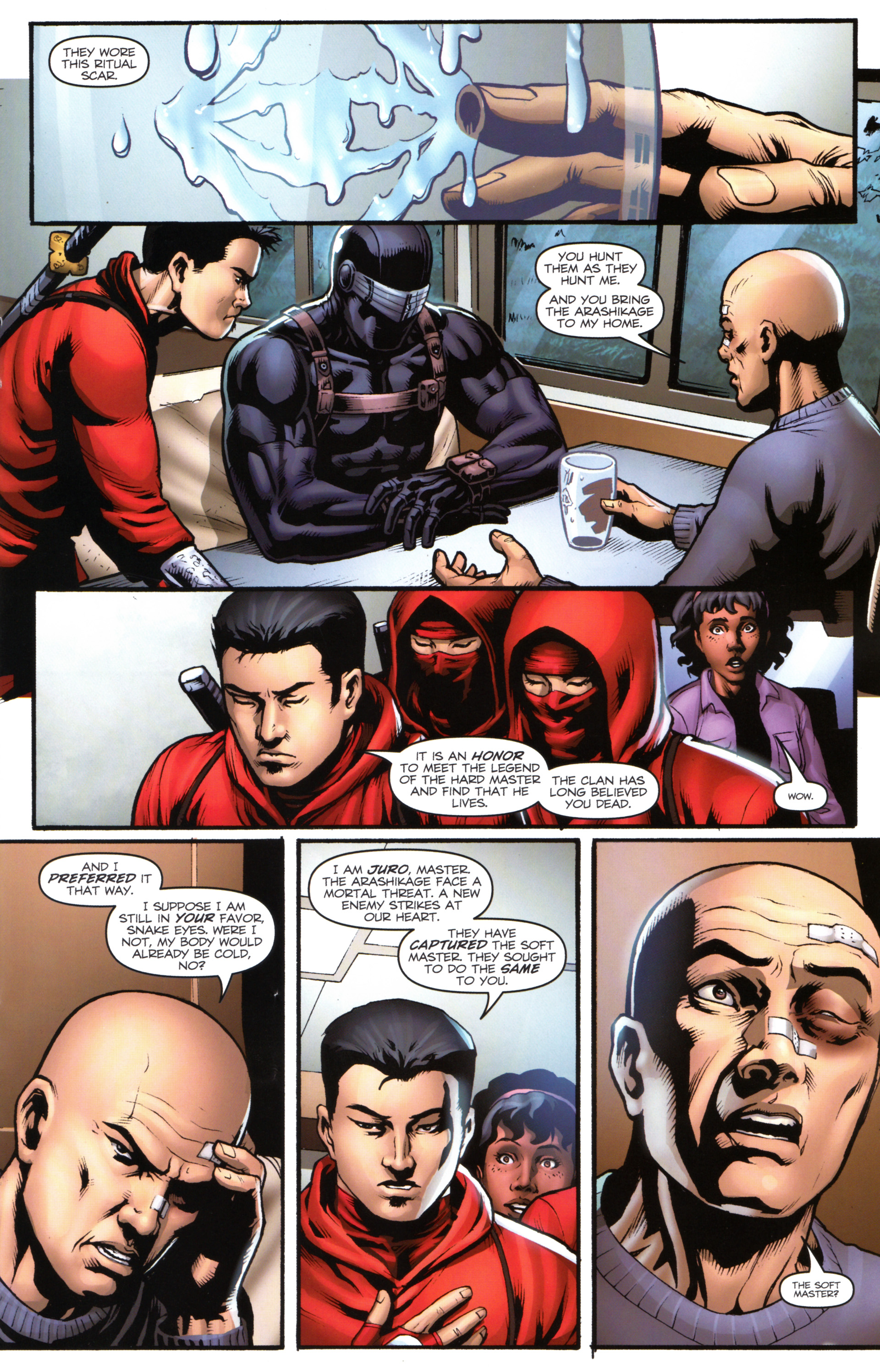Read online Snake Eyes and Storm Shadow comic -  Issue #17 - 15