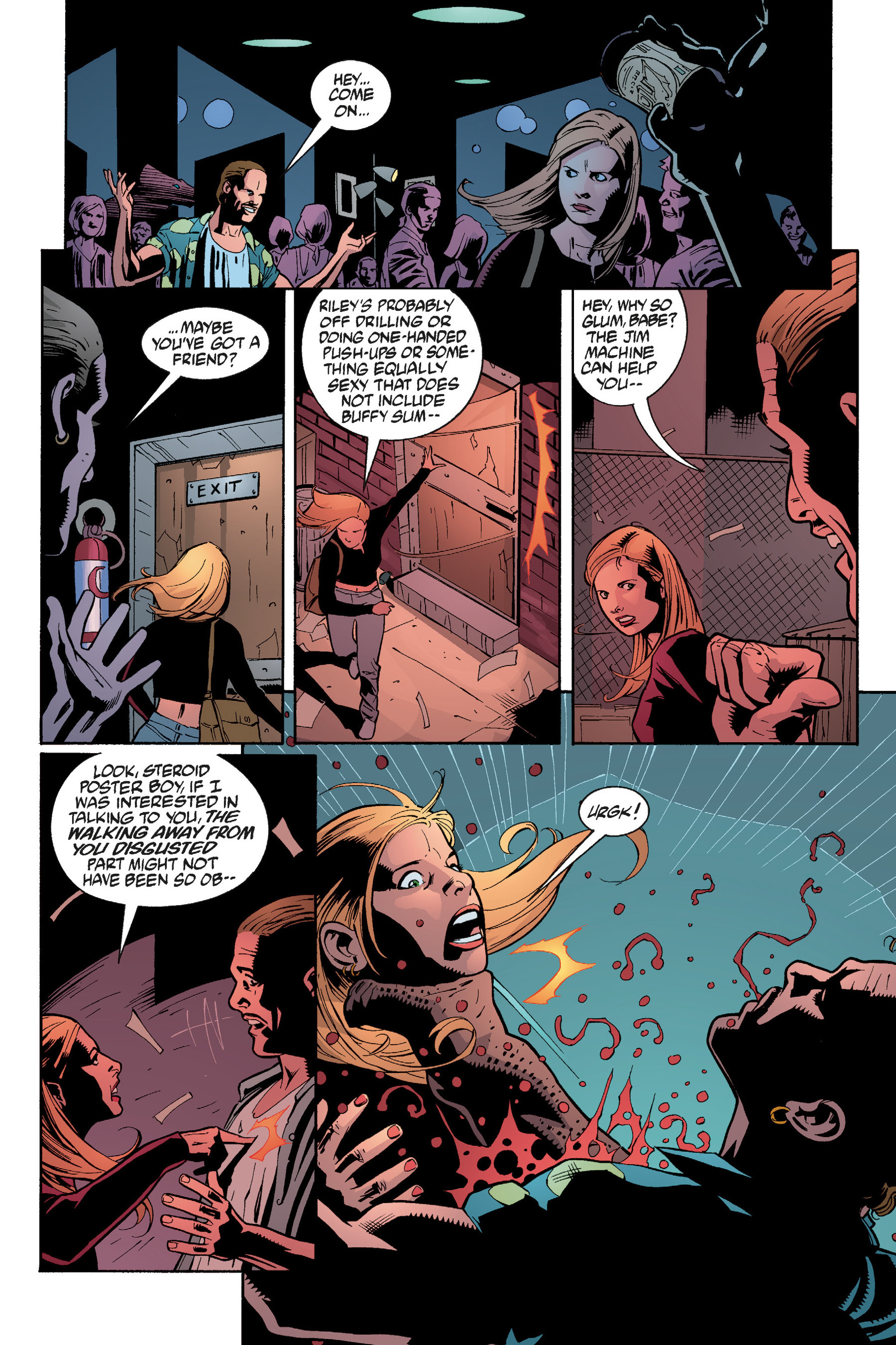 Read online Buffy the Vampire Slayer: Omnibus comic -  Issue # TPB 5 - 246