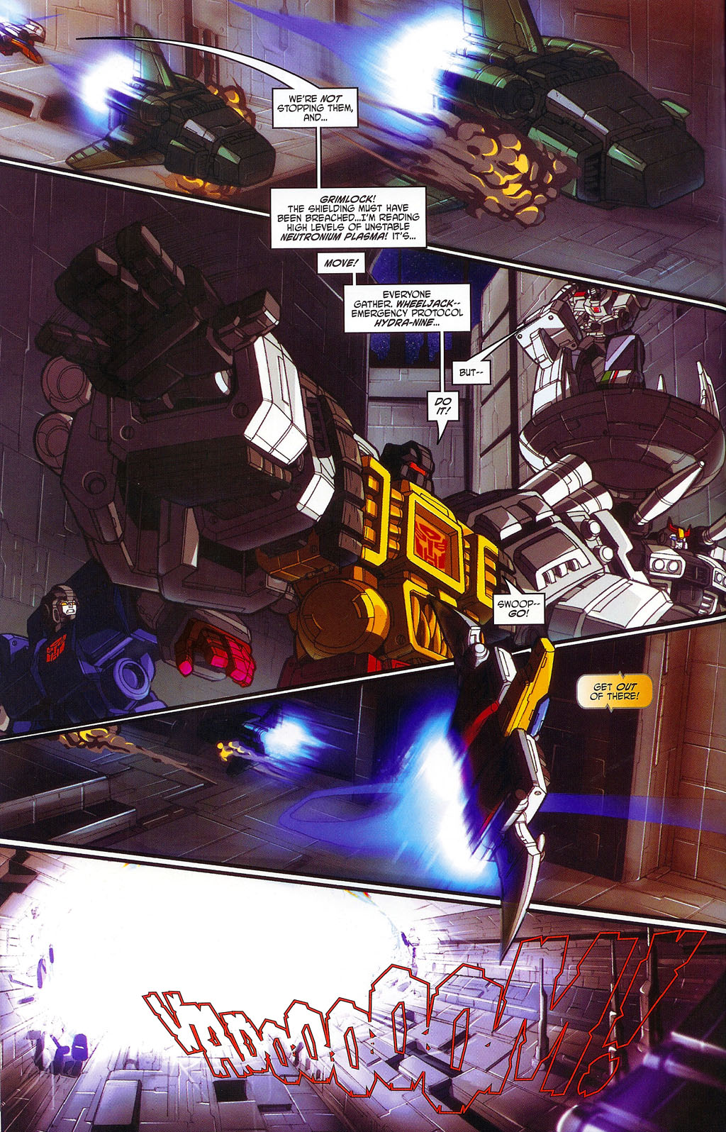 """Read online Transformers War Within: """"The Age of Wrath"""" comic -  Issue #1 - 17"""
