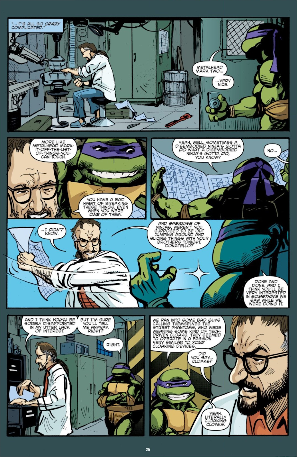 Read online Teenage Mutant Ninja Turtles: The IDW Collection comic -  Issue # TPB 7 (Part 1) - 25