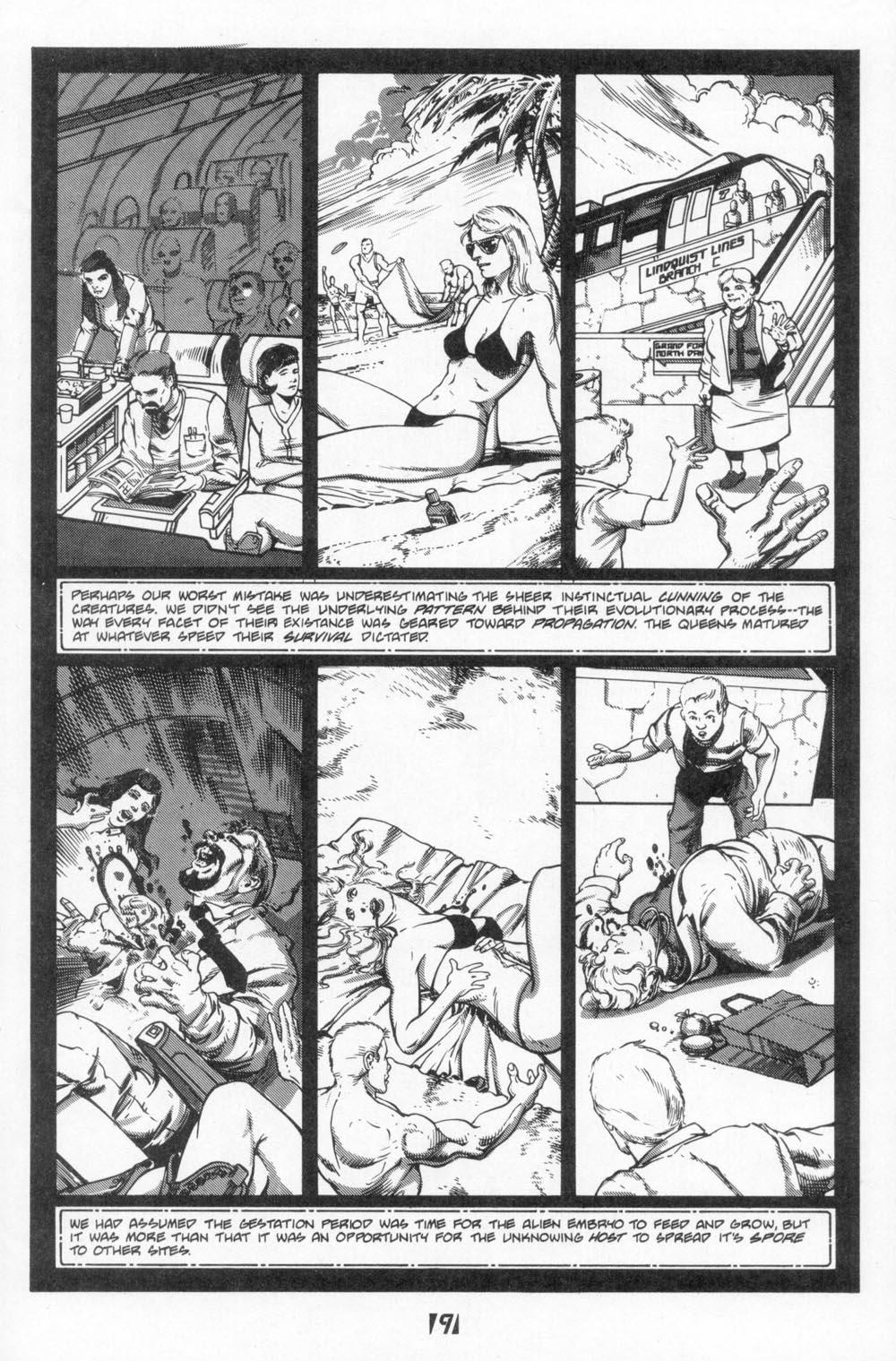 Read online Aliens (1988) comic -  Issue #6 - 11