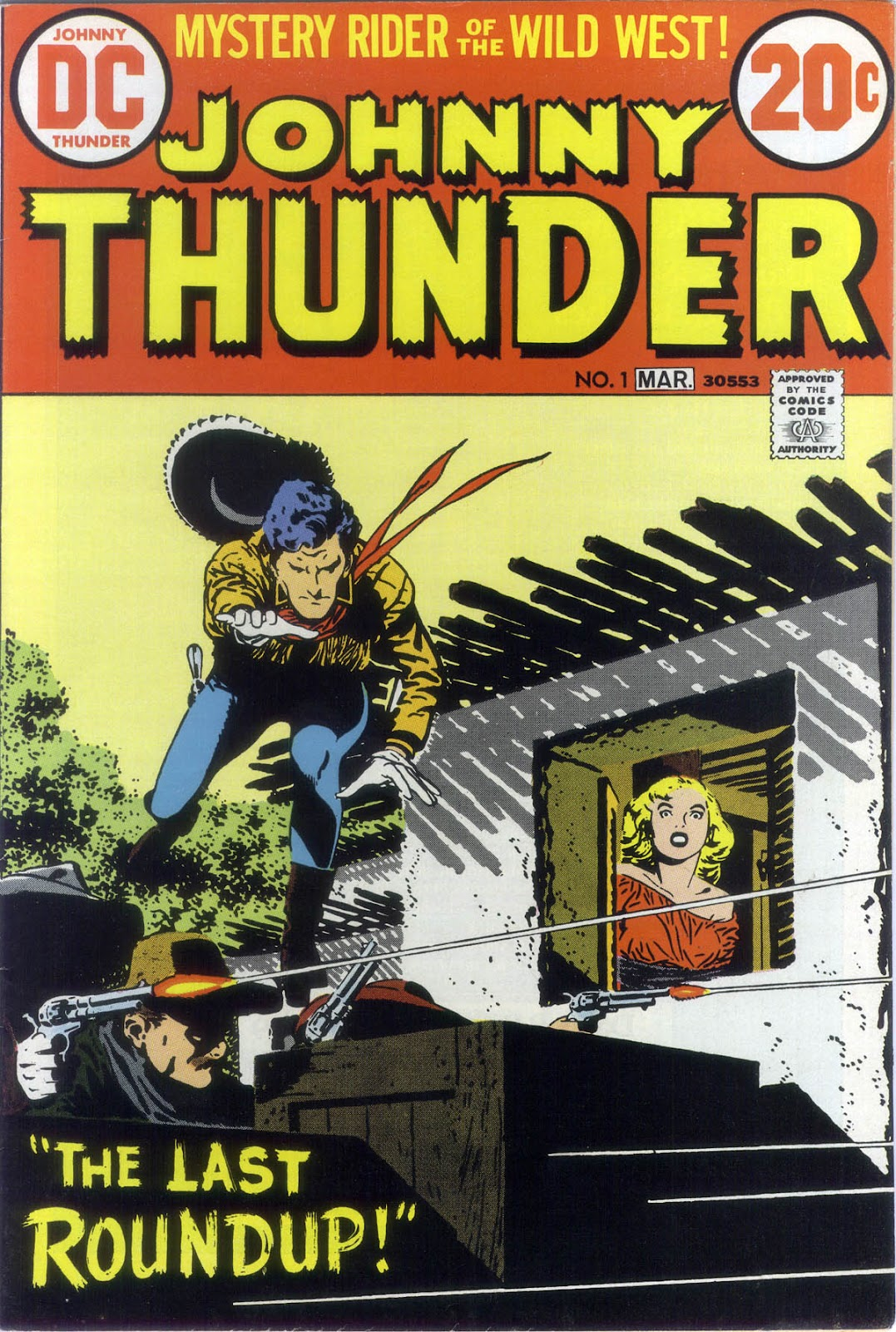 Johnny Thunder 1 Page 1