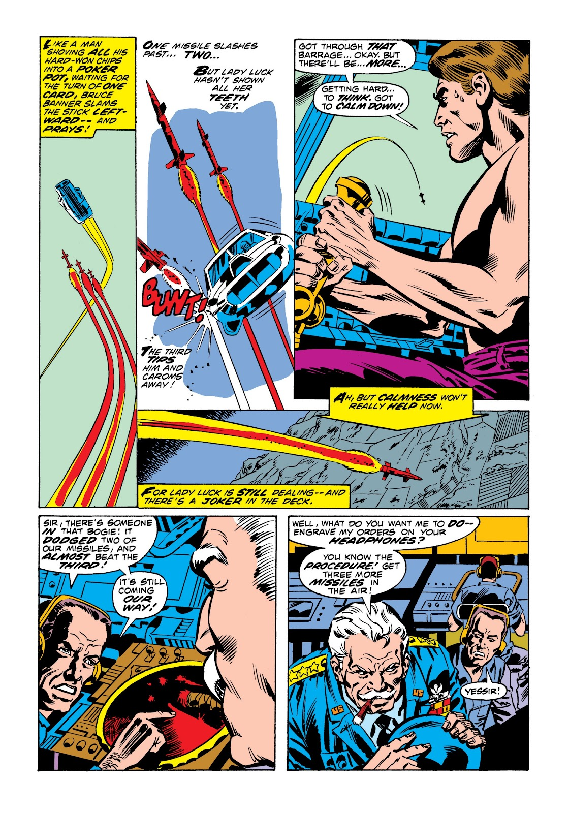Read online Marvel Masterworks: The Incredible Hulk comic -  Issue # TPB 9 (Part 1) - 55