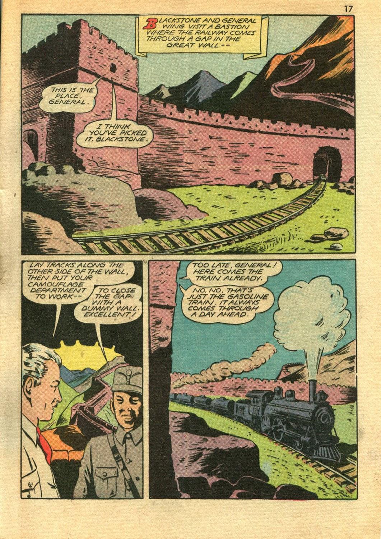 Read online Super-Magician Comics comic -  Issue #14 - 17