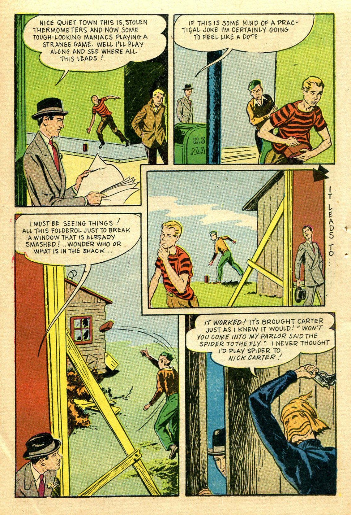 Read online Shadow Comics comic -  Issue #44 - 43