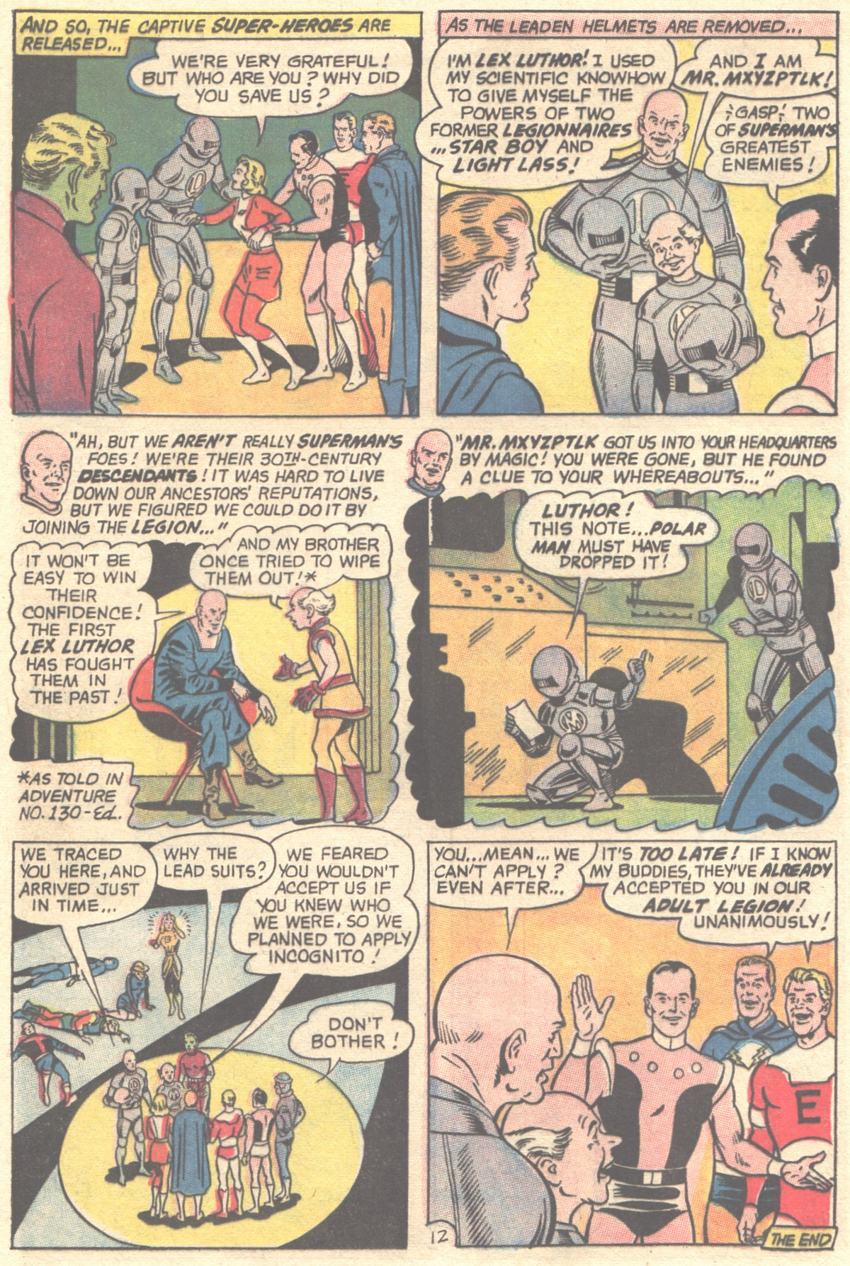 Read online Adventure Comics (1938) comic -  Issue #355 - 17