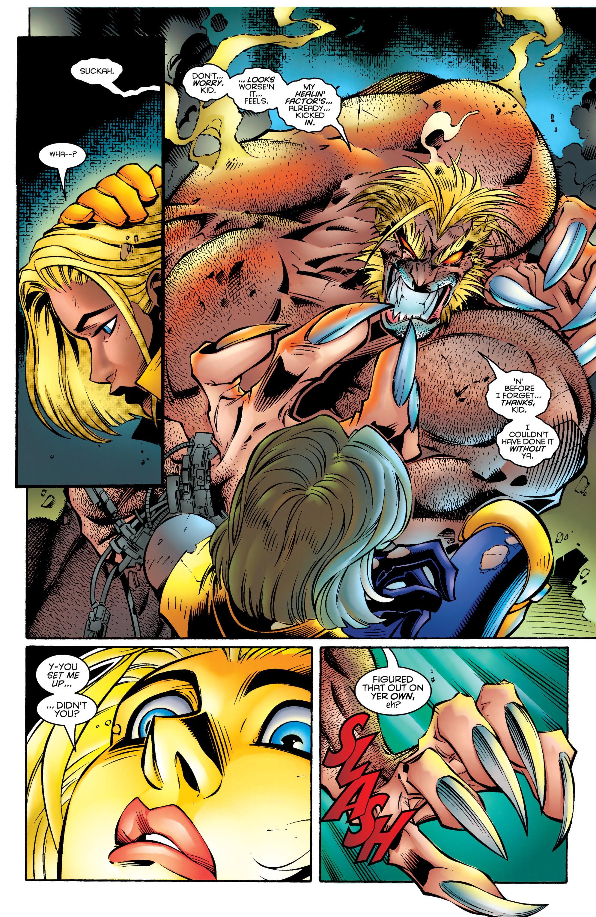 Read online Uncanny X-Men (1963) comic -  Issue #328 - 16