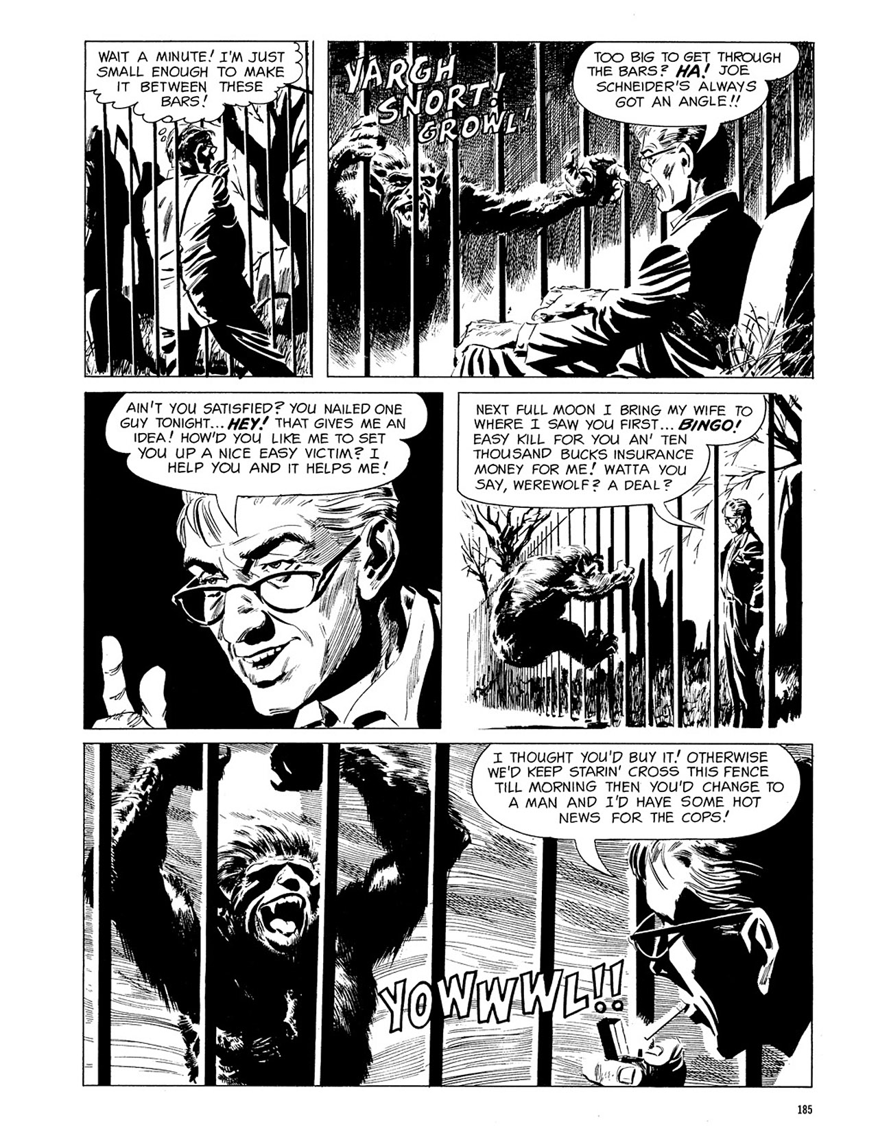 Read online Eerie Archives comic -  Issue # TPB 3 - 186