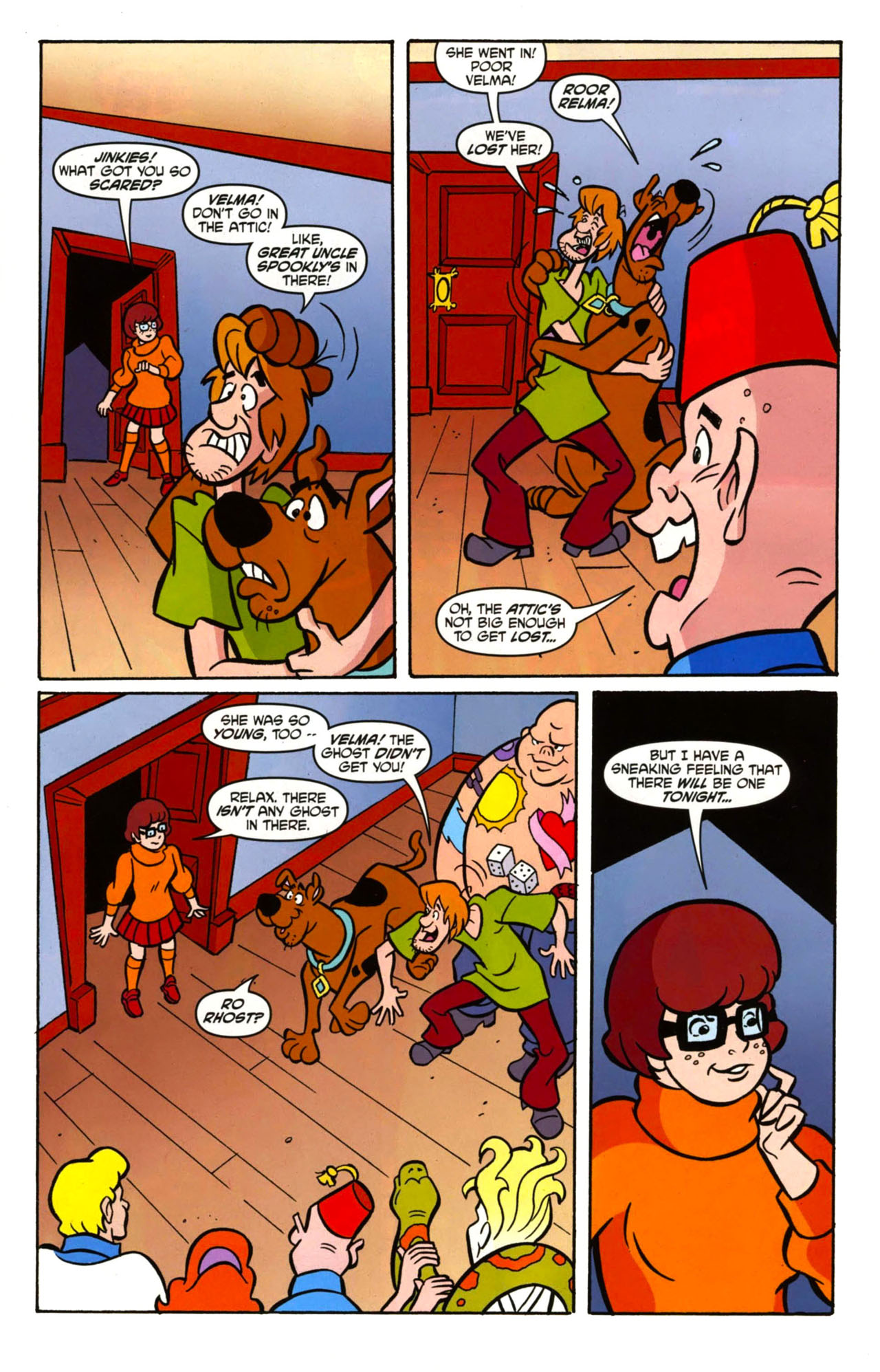 Read online Scooby-Doo: Where Are You? comic -  Issue #13 - 9
