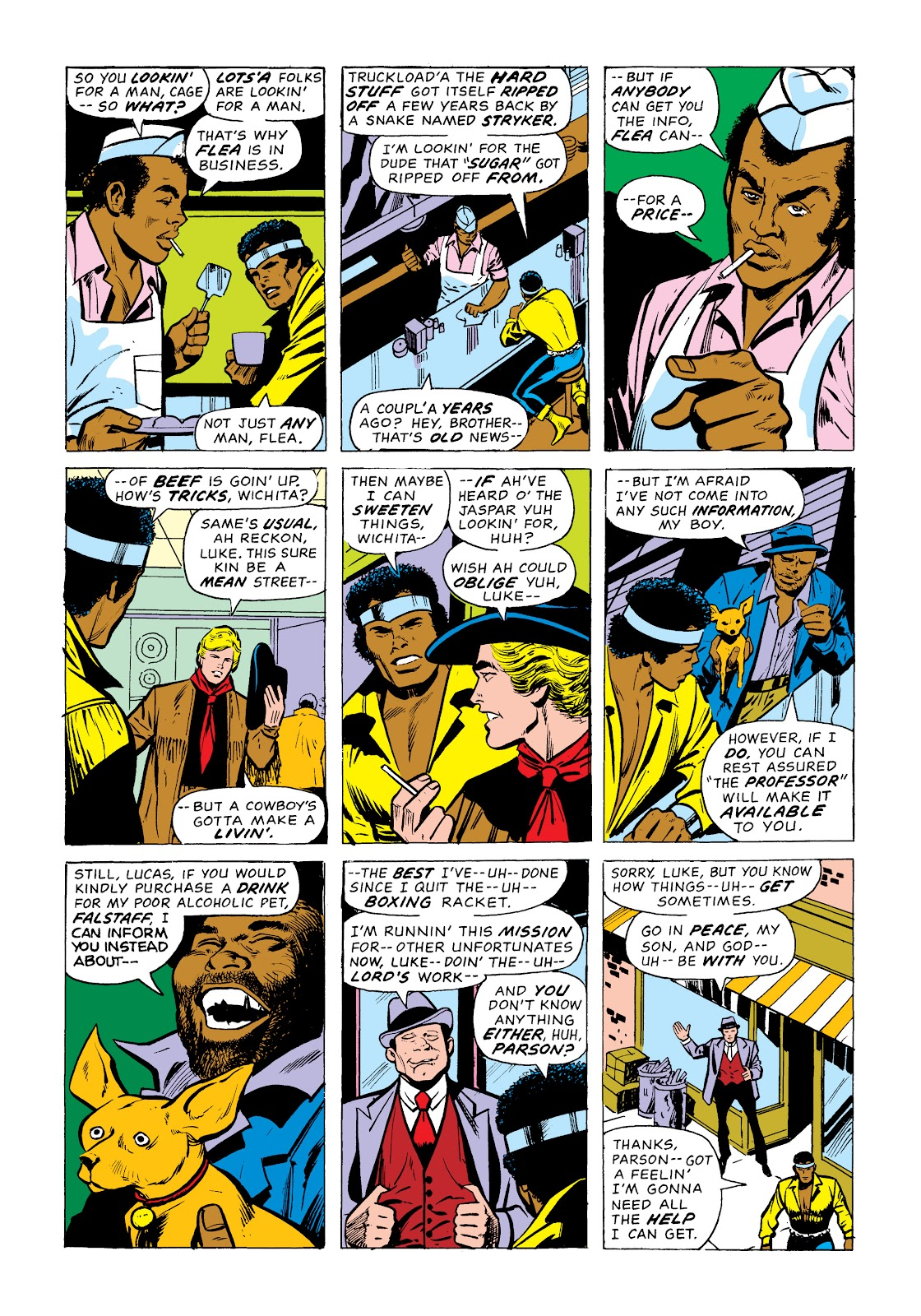 Read online Marvel Masterworks: Luke Cage, Power Man comic -  Issue # TPB 2 (Part 1) - 40