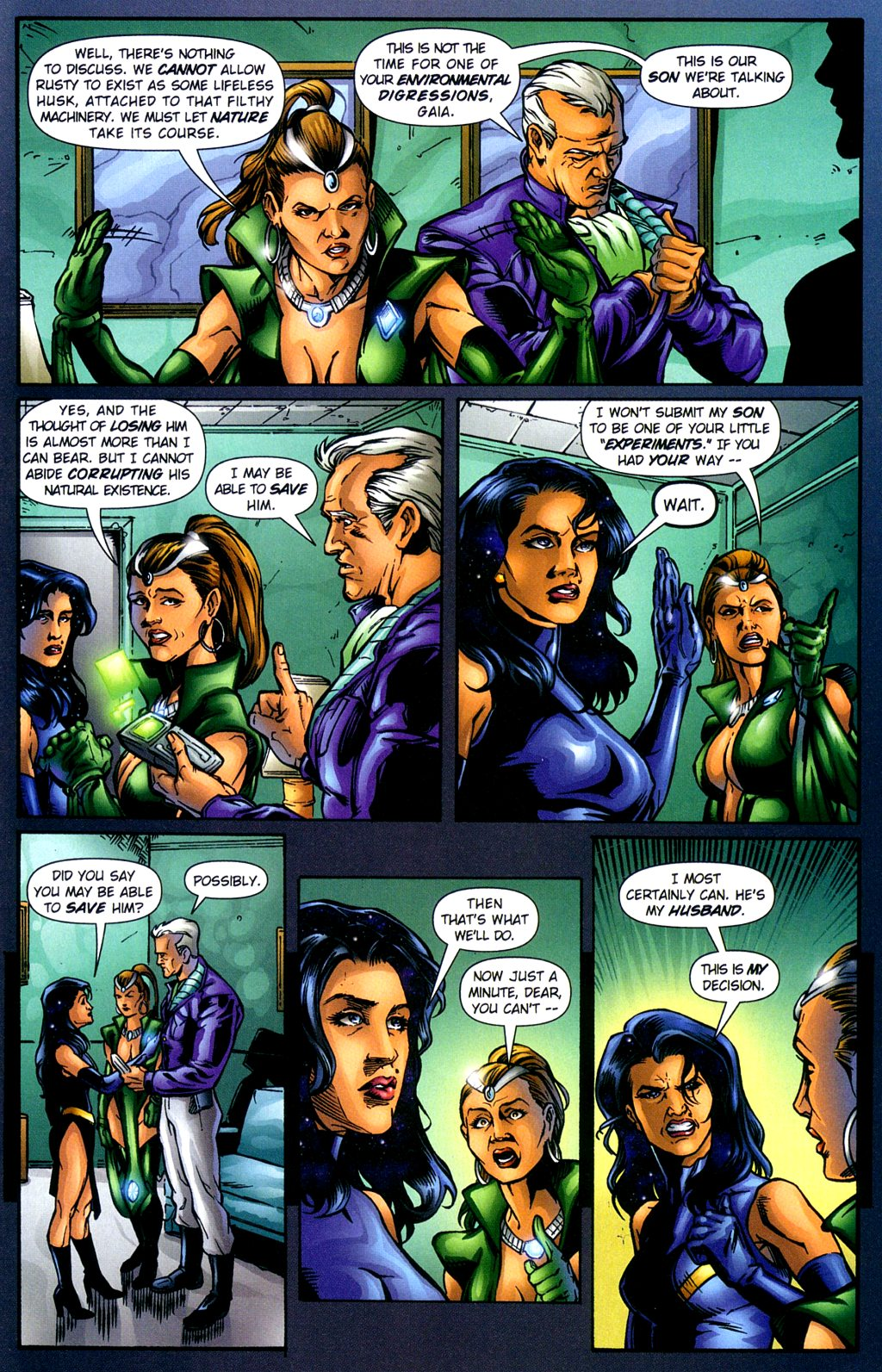 Read online Noble Causes (2002) comic -  Issue #2 - 24