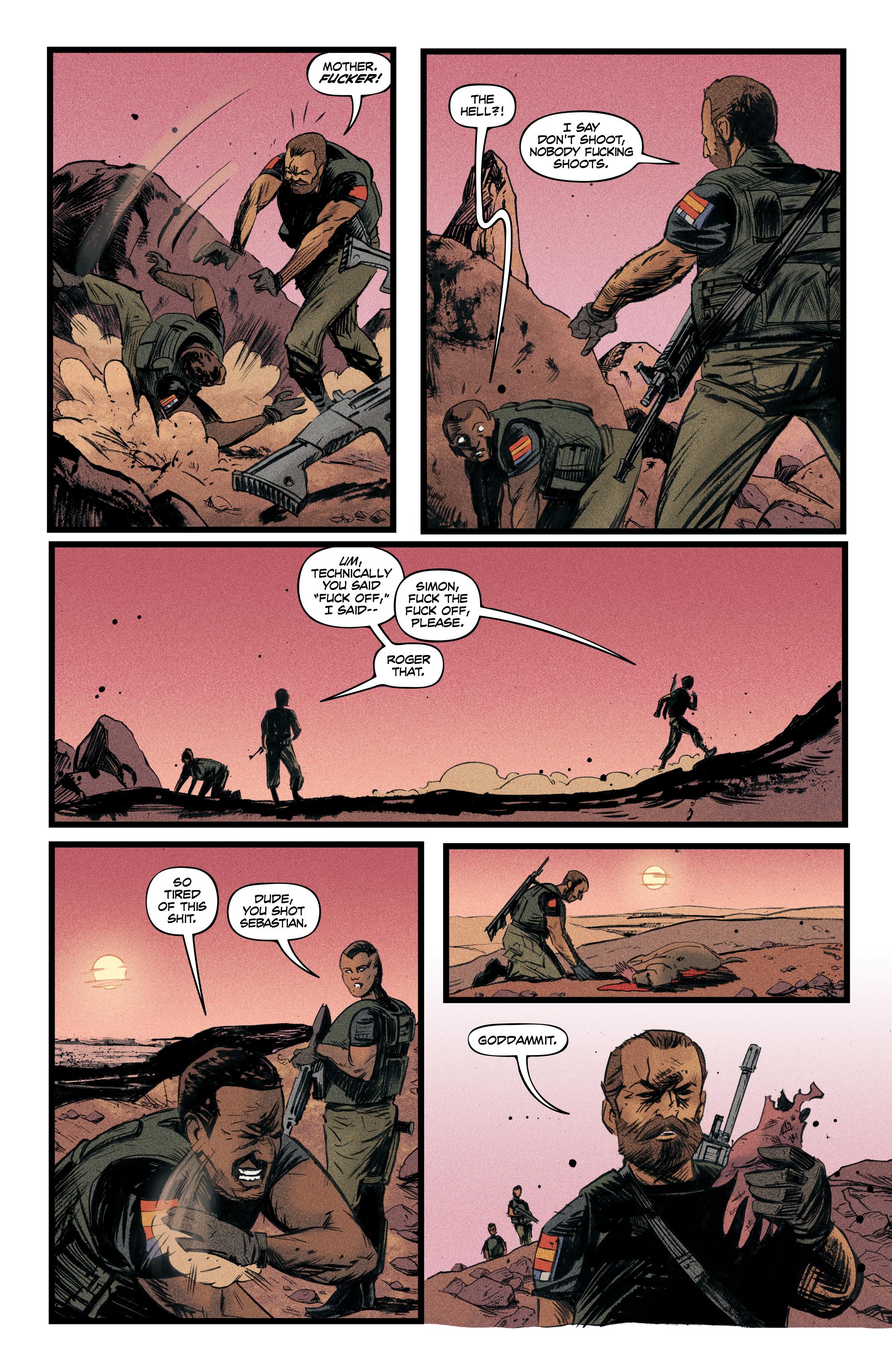 Read online Redline comic -  Issue #4 - 6