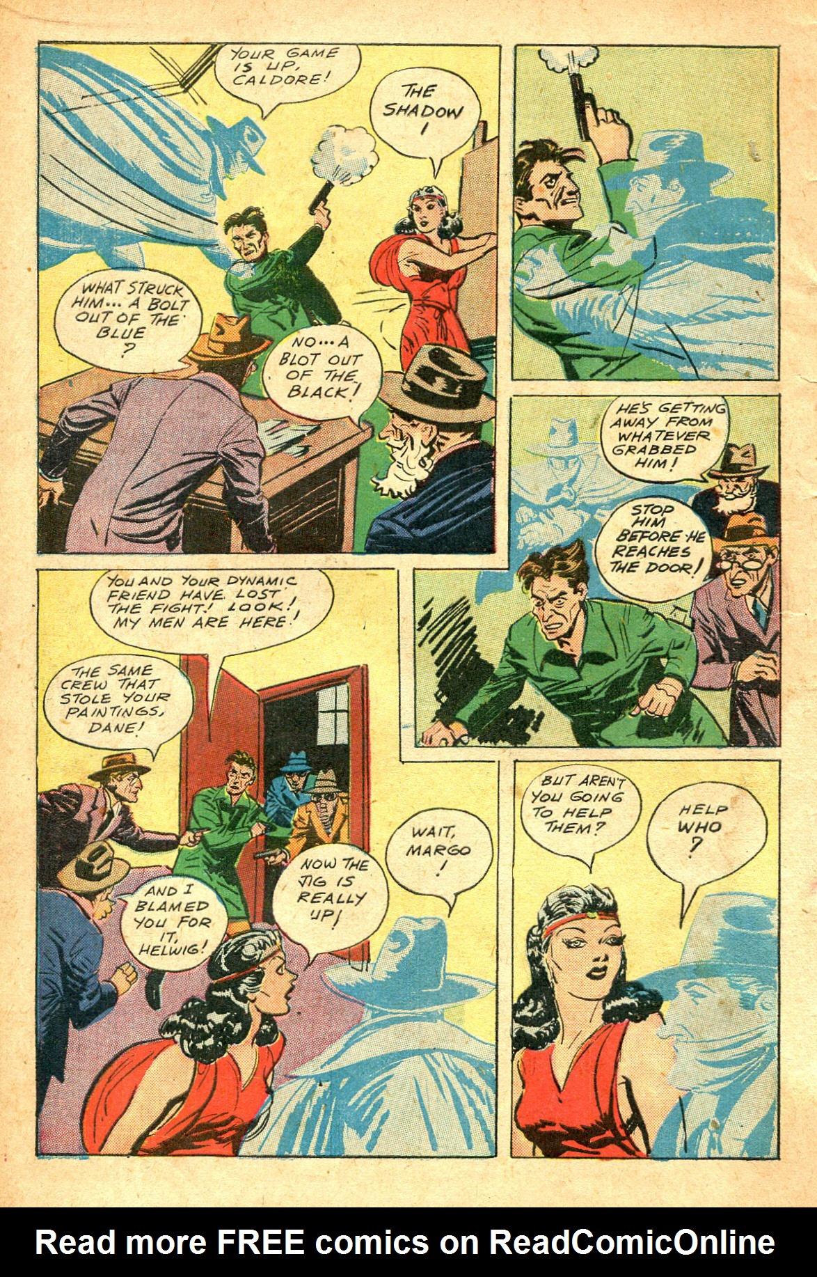 Read online Shadow Comics comic -  Issue #47 - 15