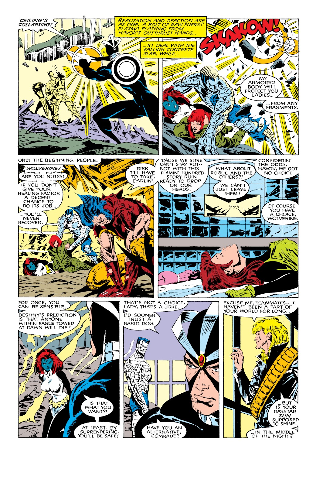 Read online X-Men Milestones: Fall of the Mutants comic -  Issue # TPB (Part 1) - 30