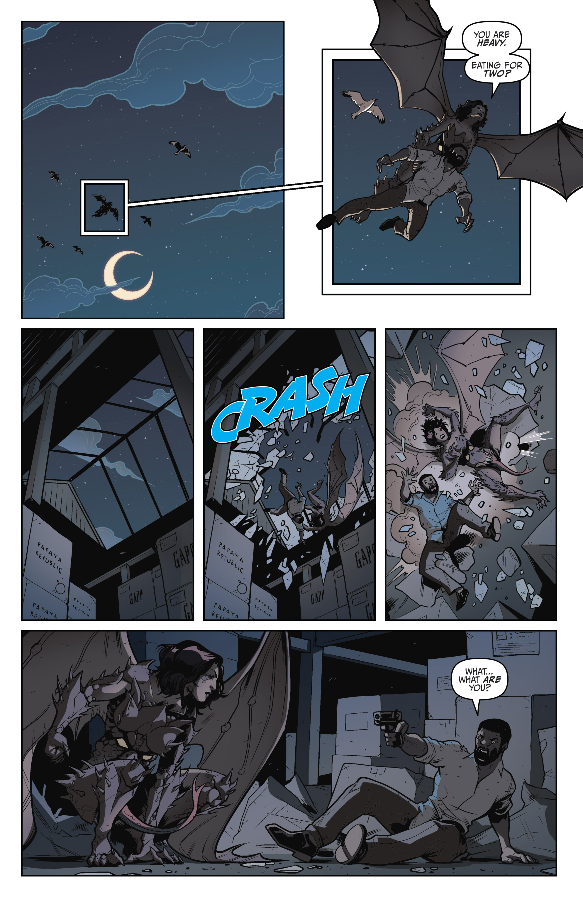 Read online Darkness Visible comic -  Issue #5 - 6