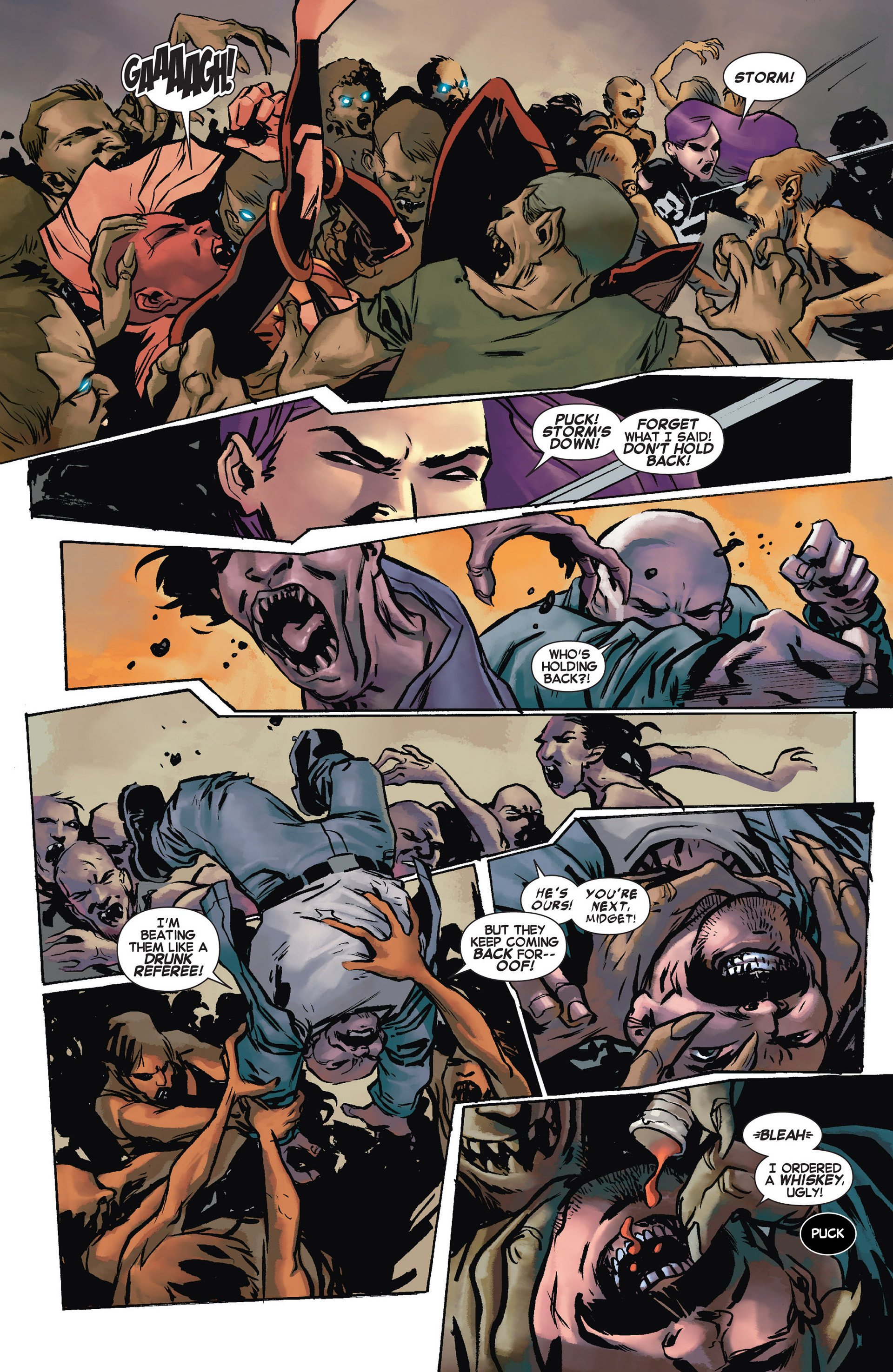 Read online Uncanny X-Force (2013) comic -  Issue #10 - 12