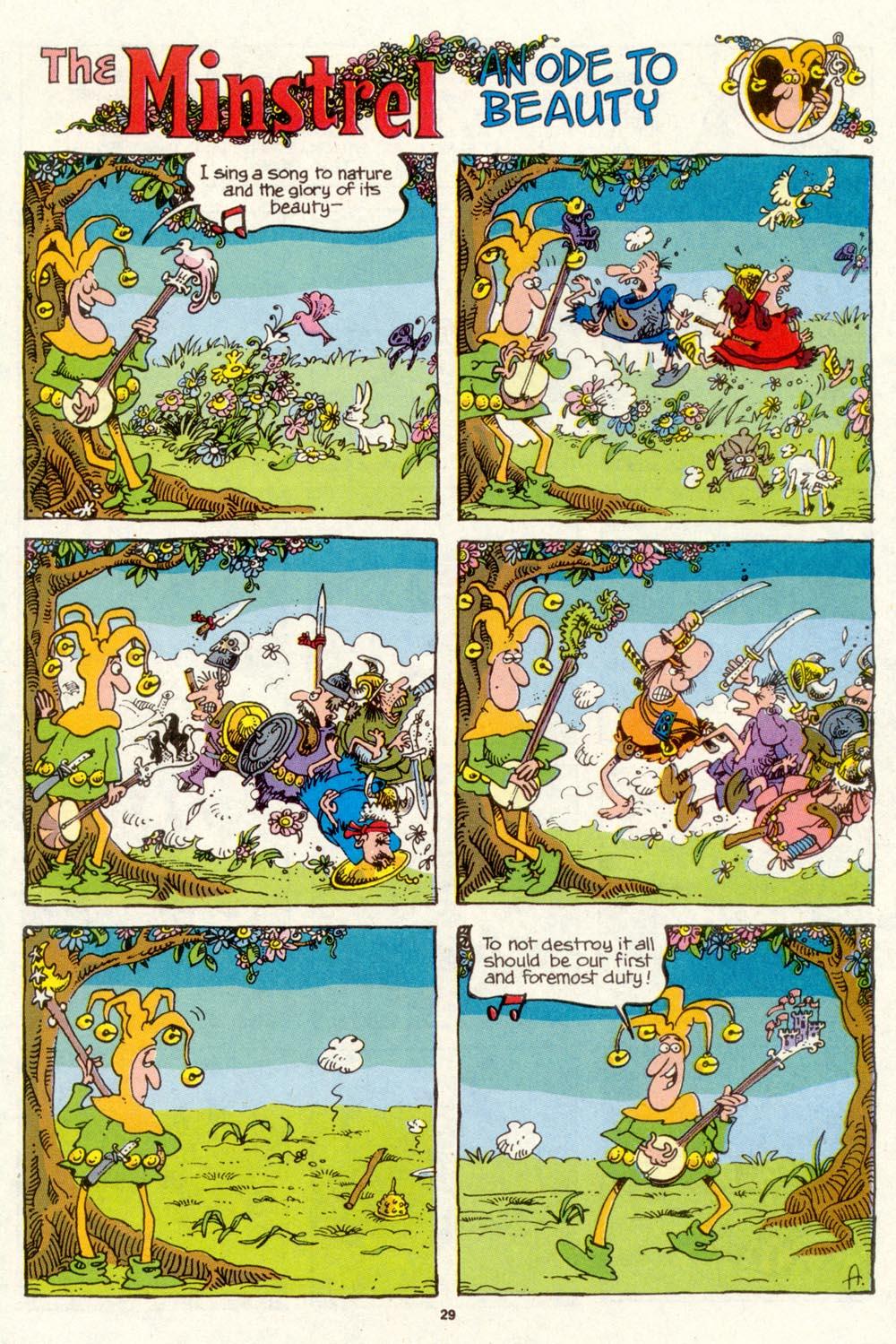 Read online Sergio Aragonés Groo the Wanderer comic -  Issue #89 - 30