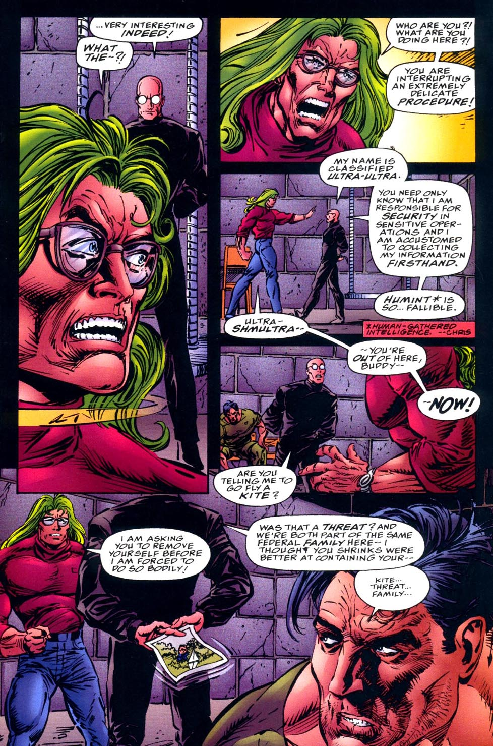 Read online Double Edge comic -  Issue # Issue Alpha - 23
