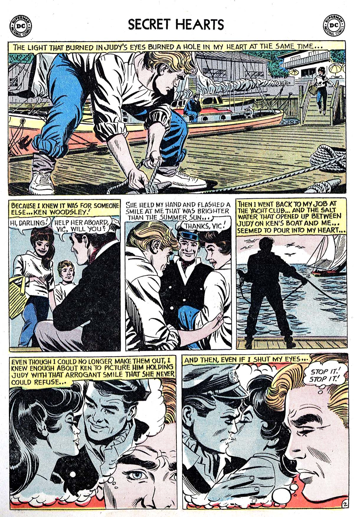 Read online Secret Hearts comic -  Issue #82 - 4