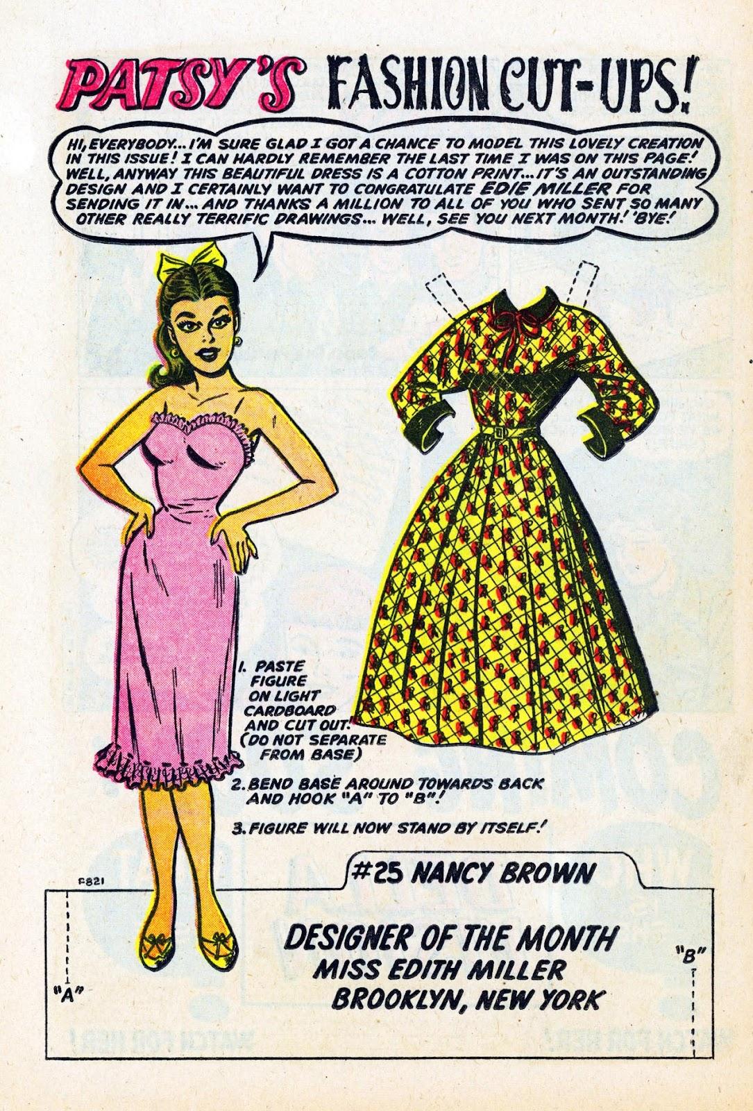 Read online Patsy Walker comic -  Issue #58 - 24