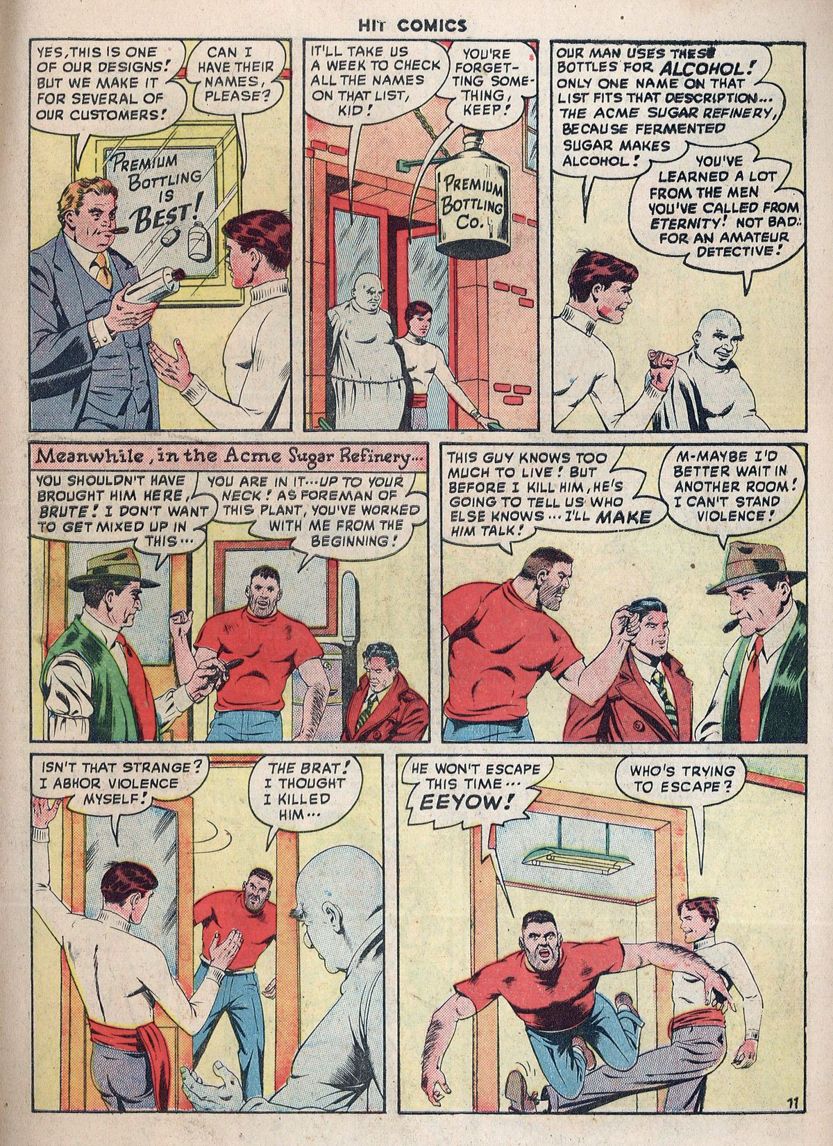 Read online Hit Comics comic -  Issue #55 - 13